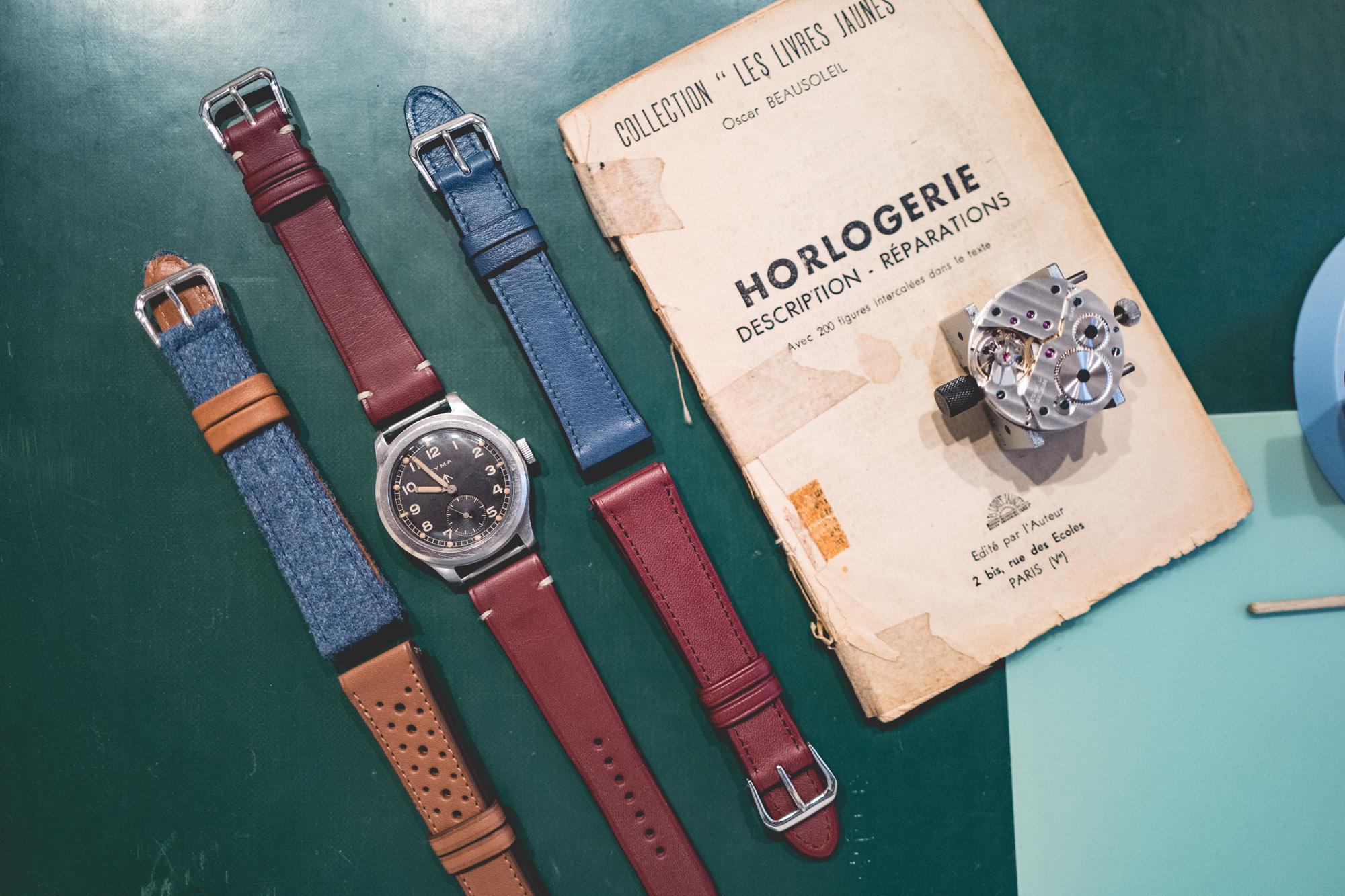 Cours d'horlogerie - Bracelet Joseph Bonnie