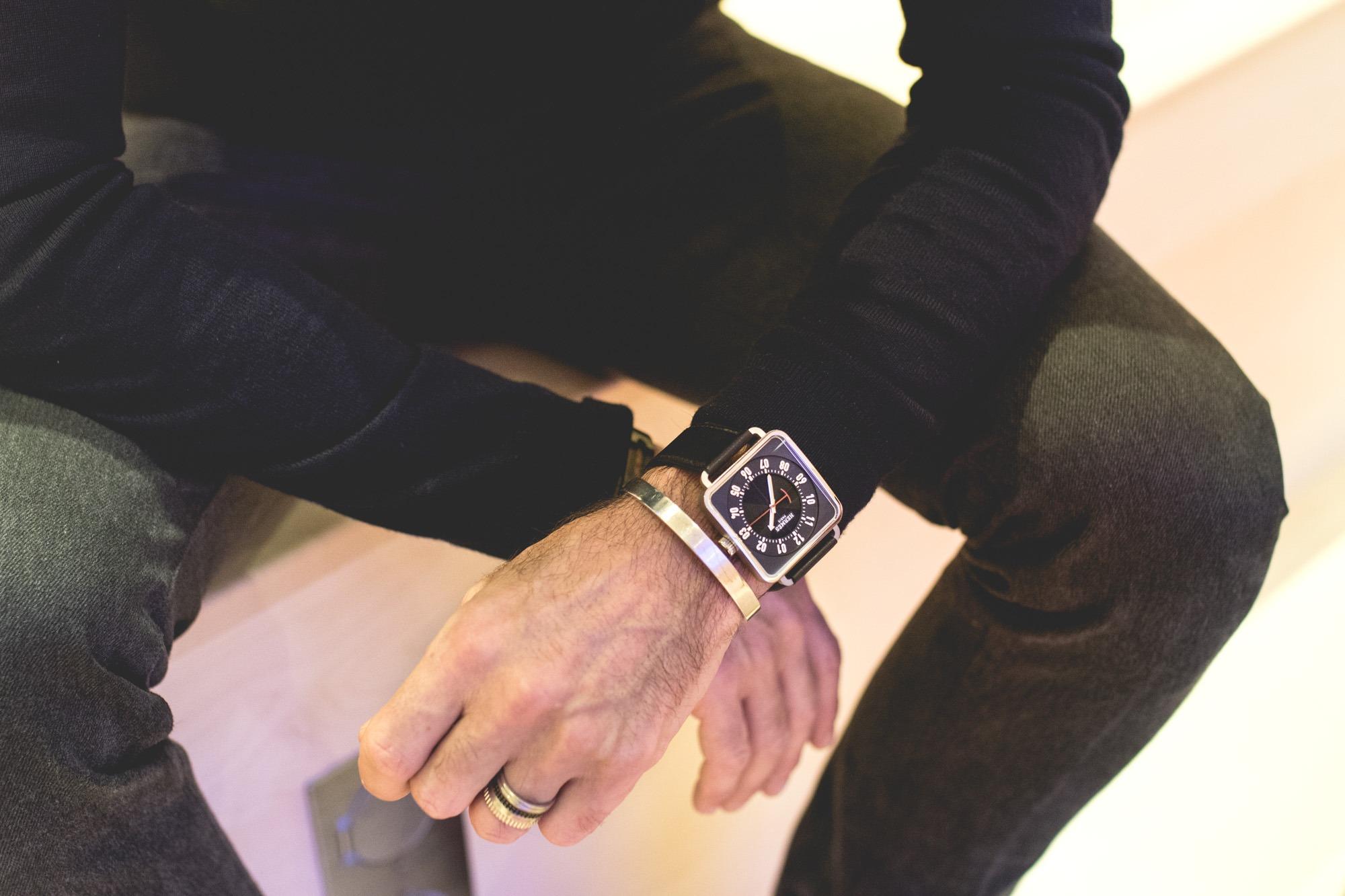 Hermès SIHH 2018 - Carré H cadran noir