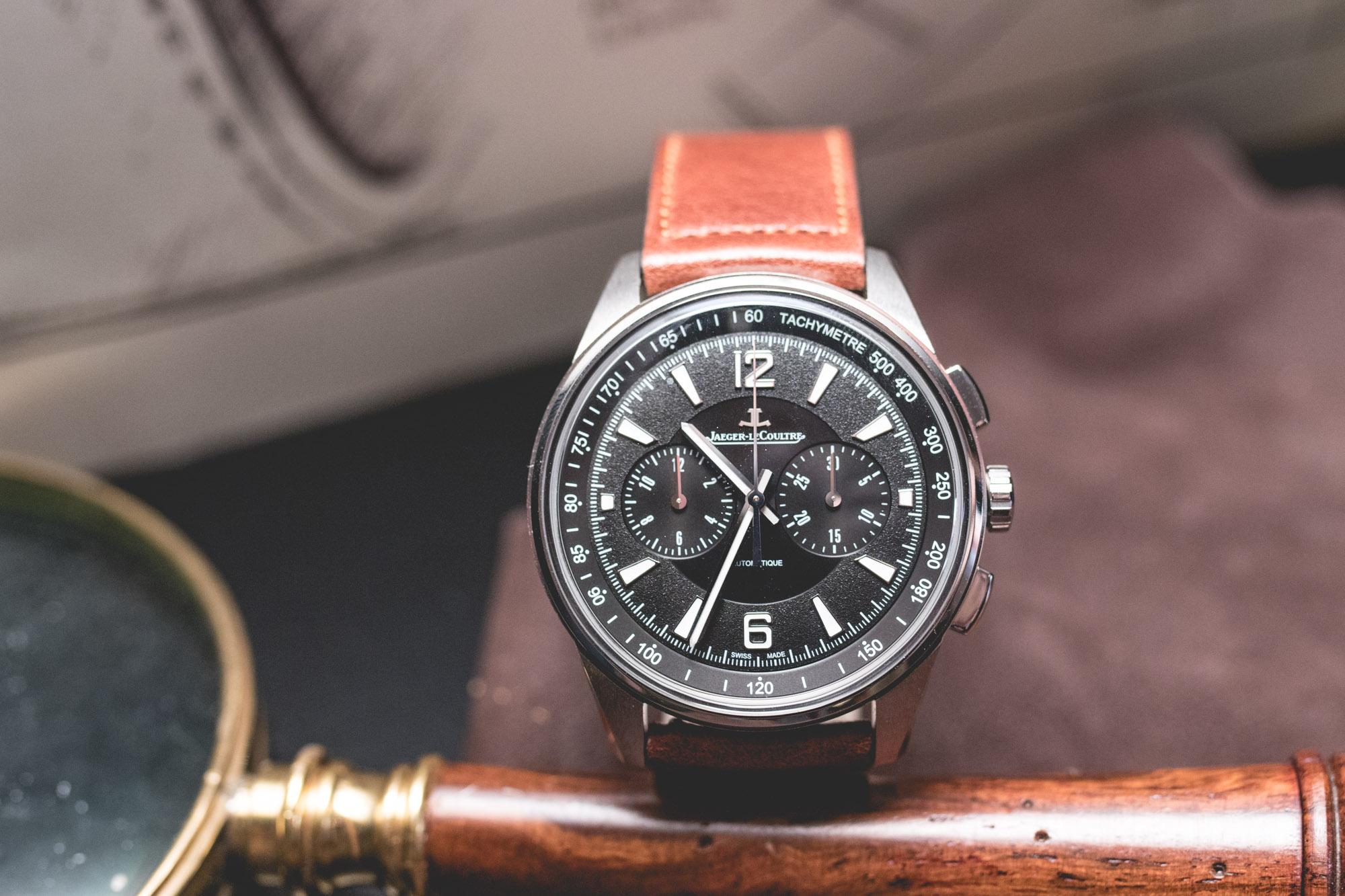 Jaeger Lecoultre - SIHH 2018 - chronographe automatique -cadran