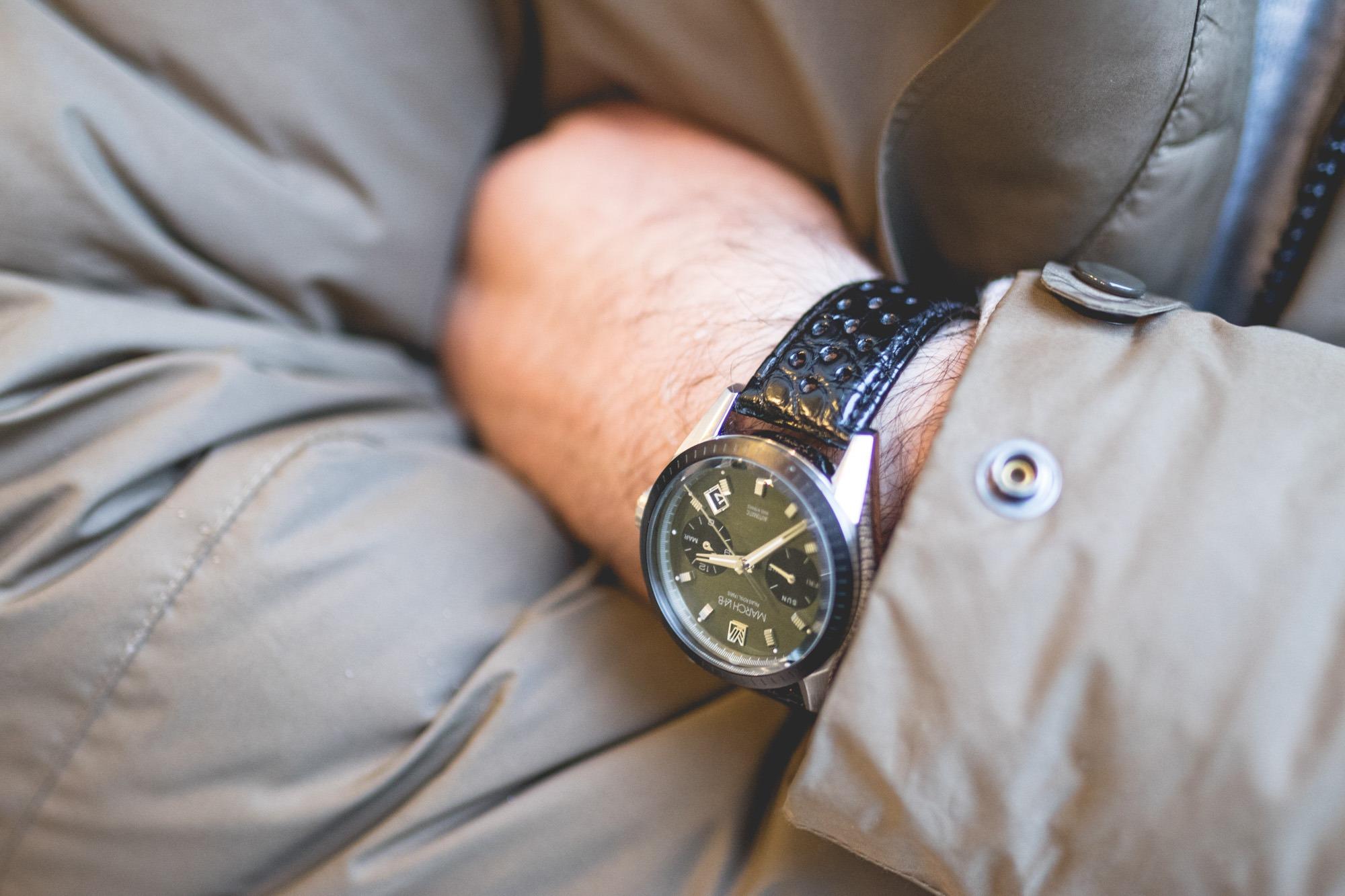 March L.A-B Agenda - bracelet cuir
