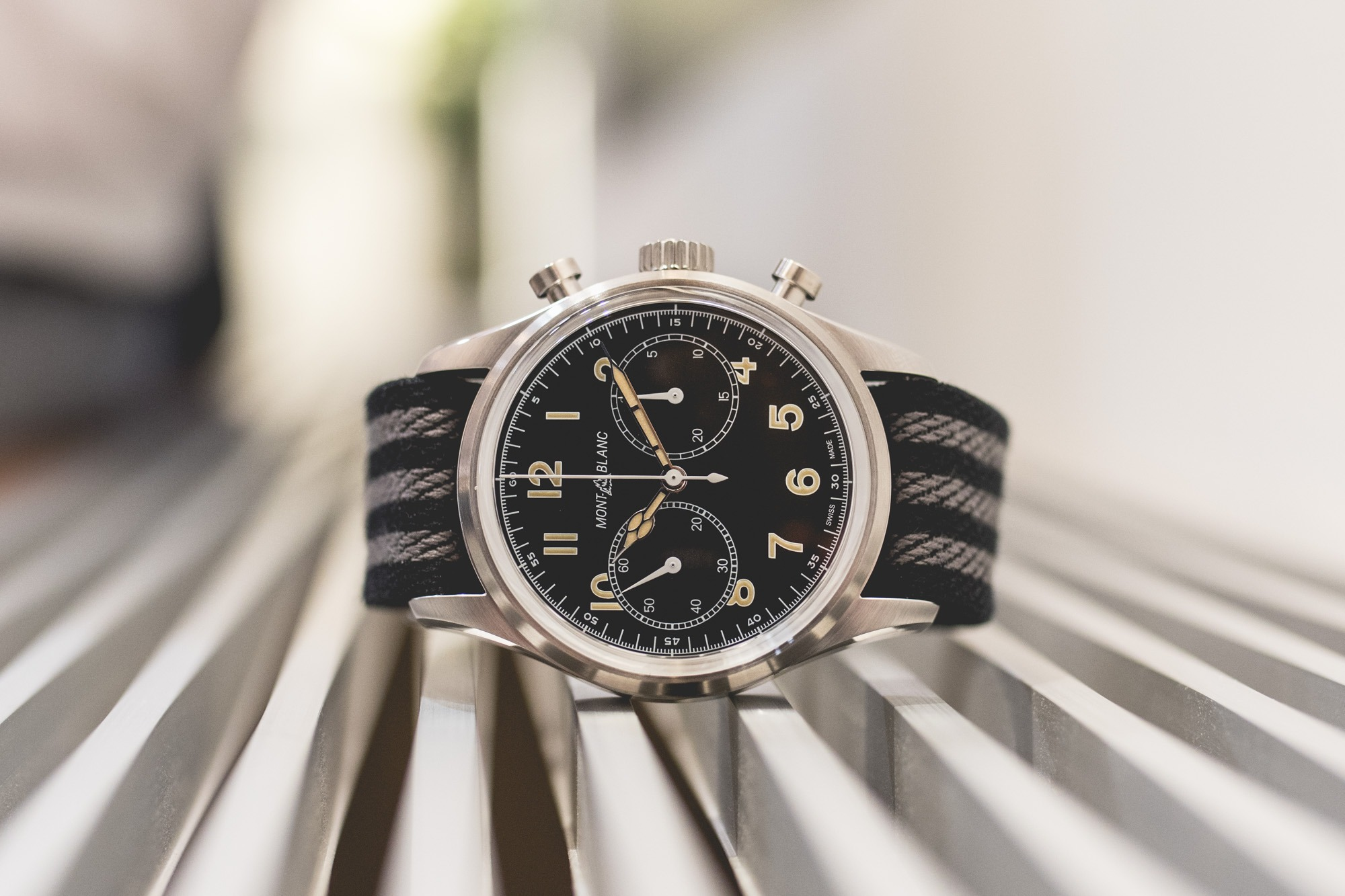 Montblanc SIHH 2018 - 1858 Automatic Chronograph
