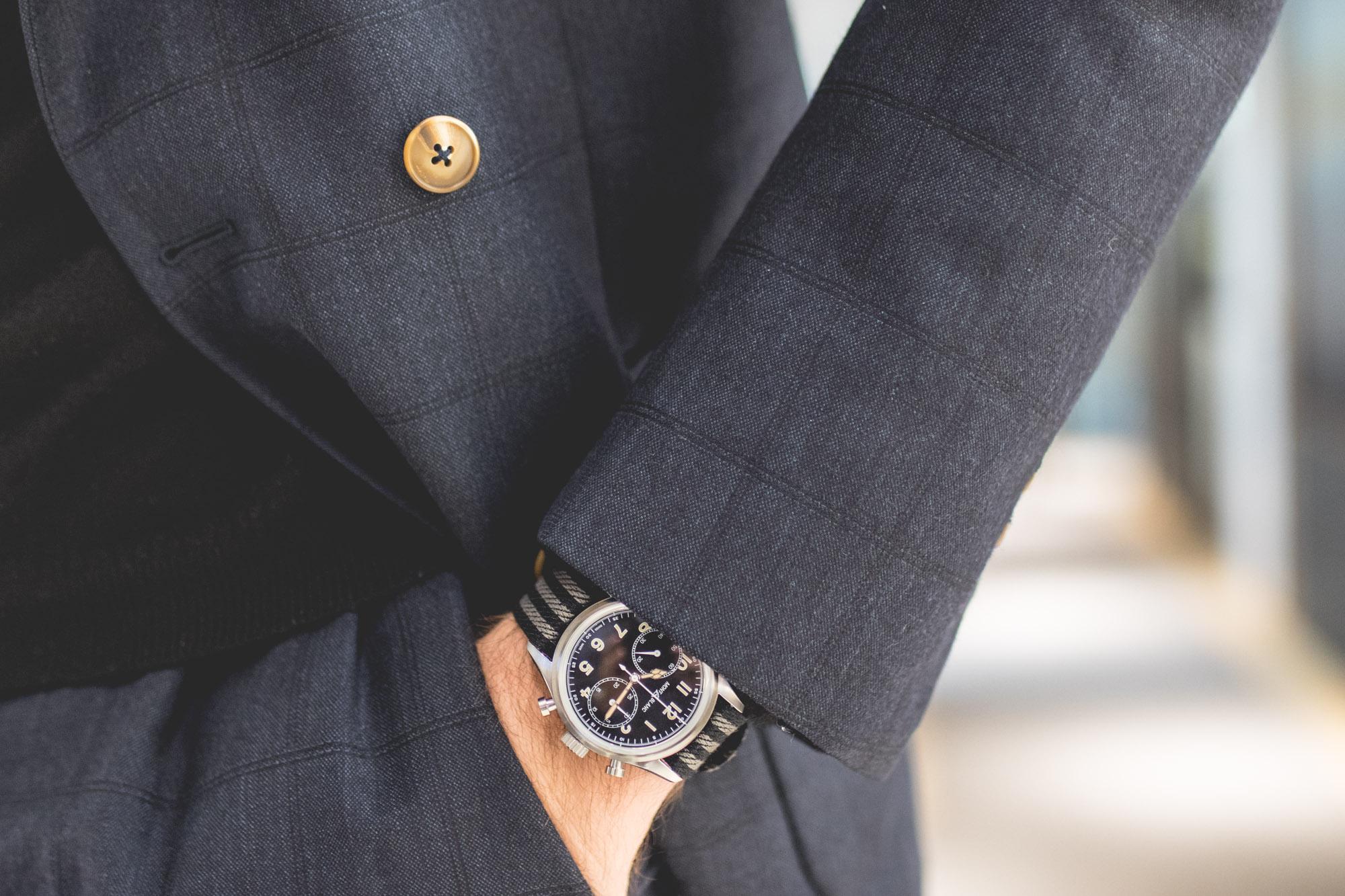 Montblanc SIHH 2018 - 1858 Automatic Chronograph 42mm (Bracelet Nato)