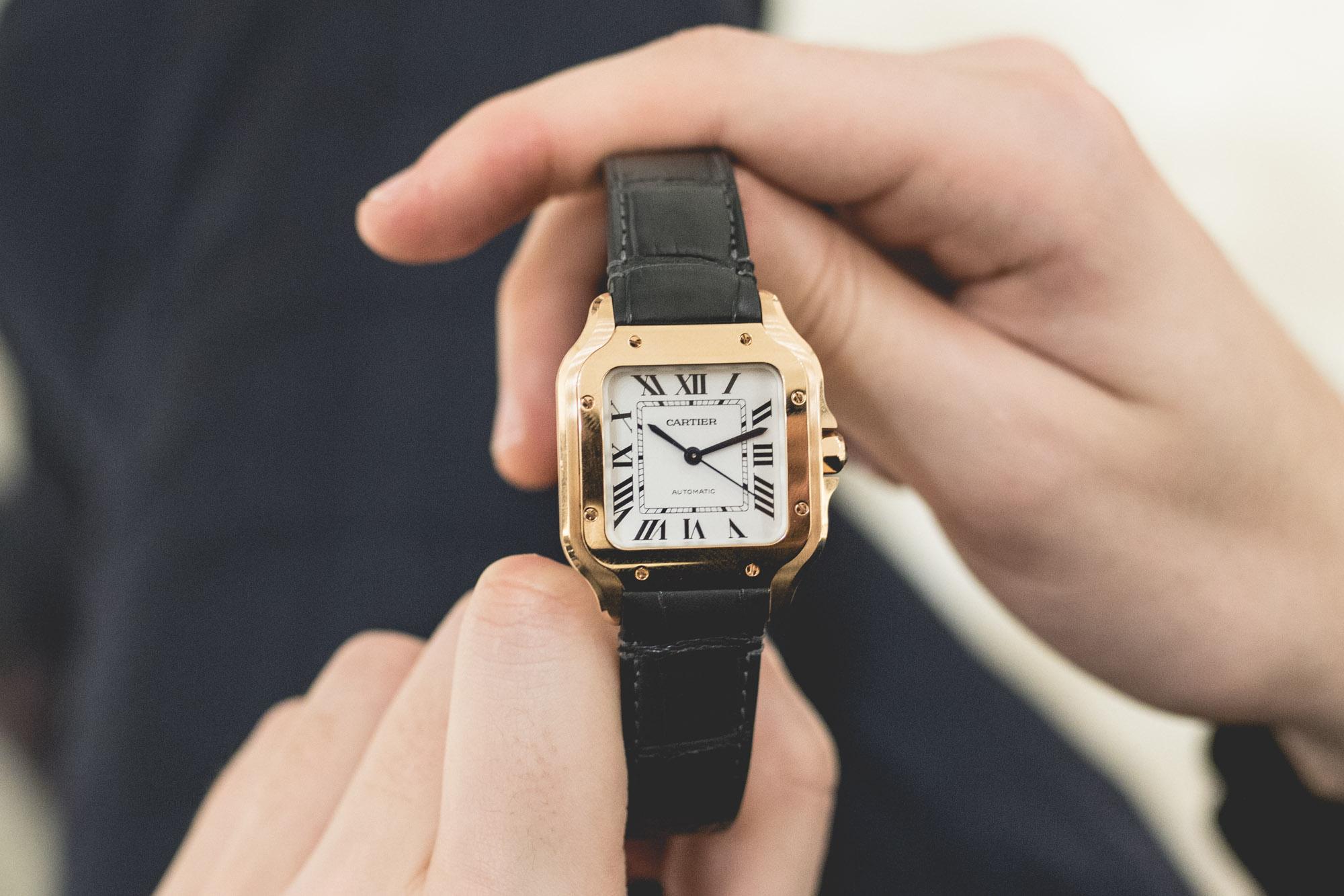 Montre Cartier Santos Focus