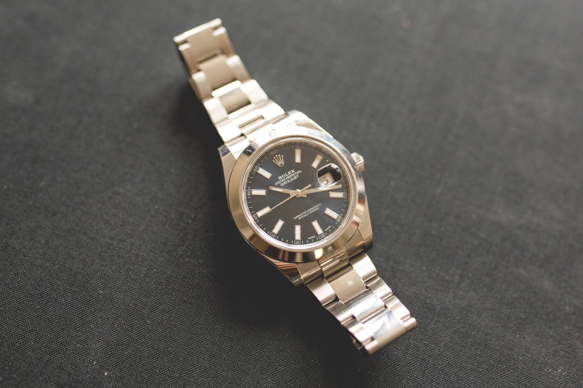 Rolex Datejust - Cadran Bleu - Detail