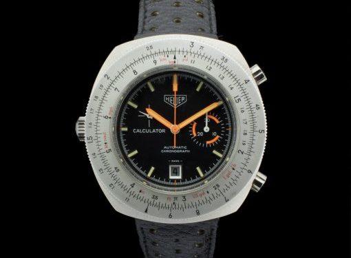 Heuer Calculator Chronograph - Référence 150.633