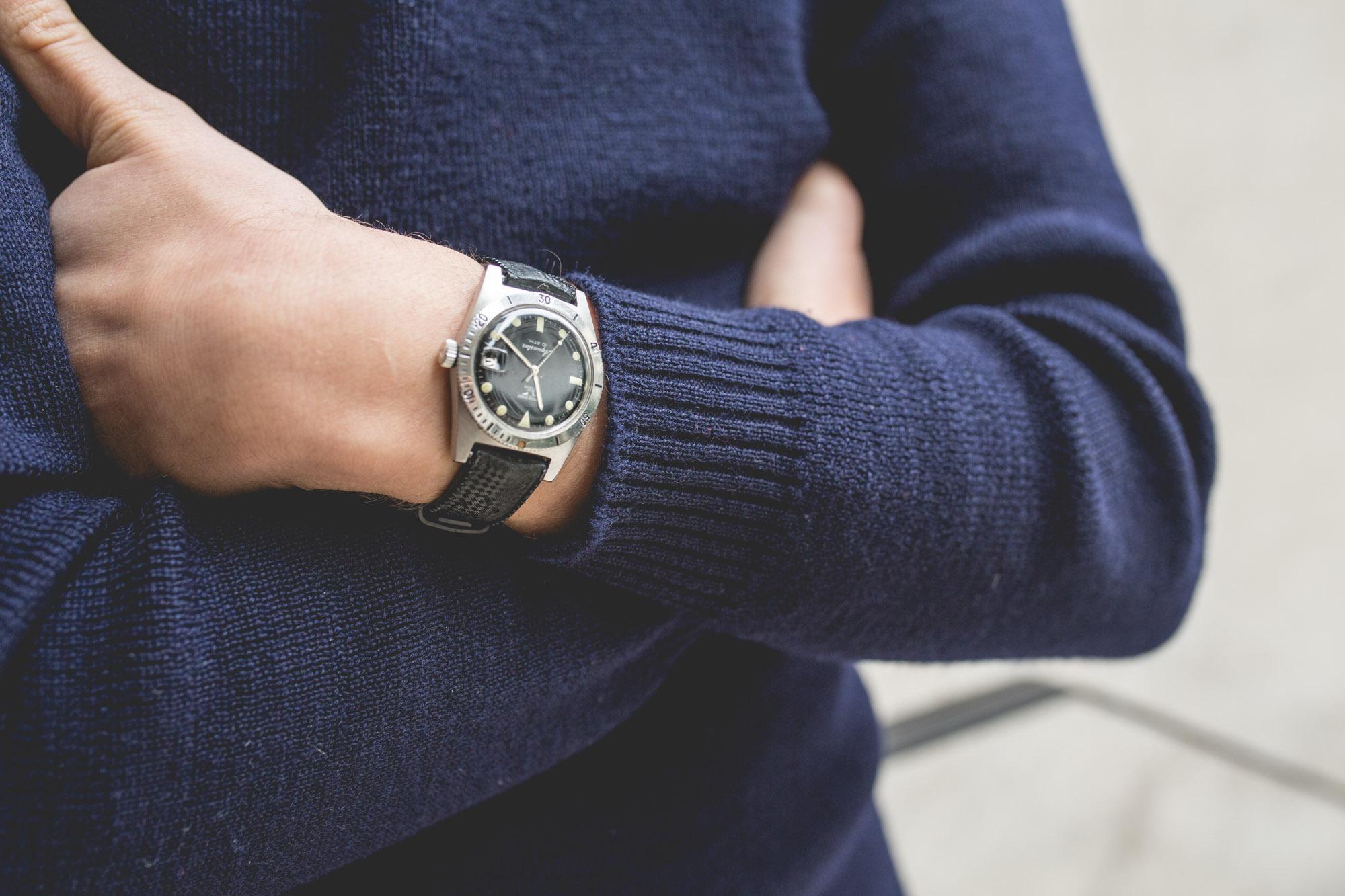 JeanRichard Aquastar - wrist