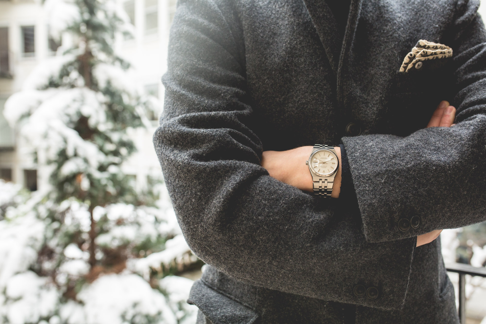 Rolex Oysterquartz - Datejust 17014 - style