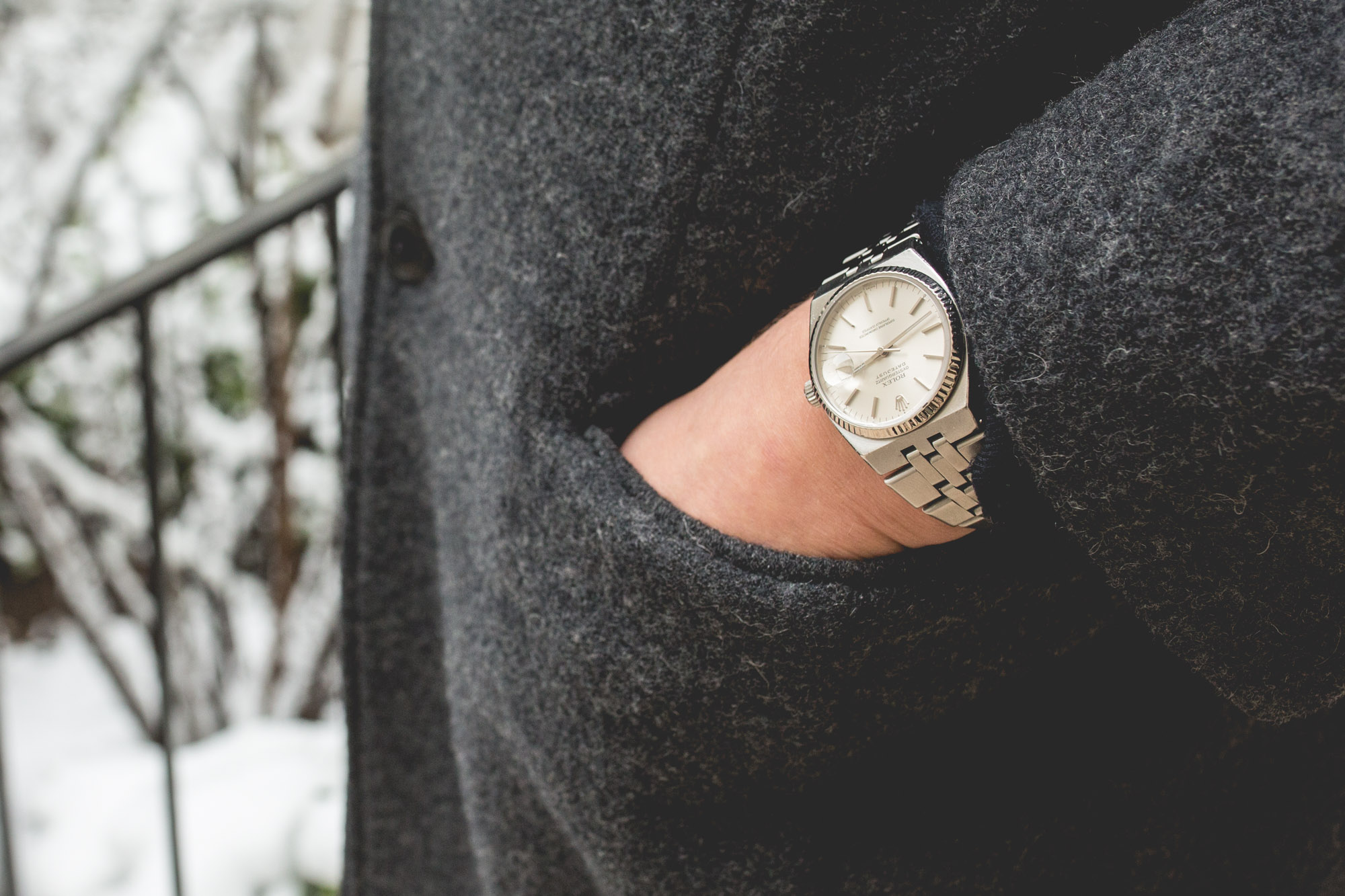 Rolex Oysterquartz - Datejust 17014 - poignet