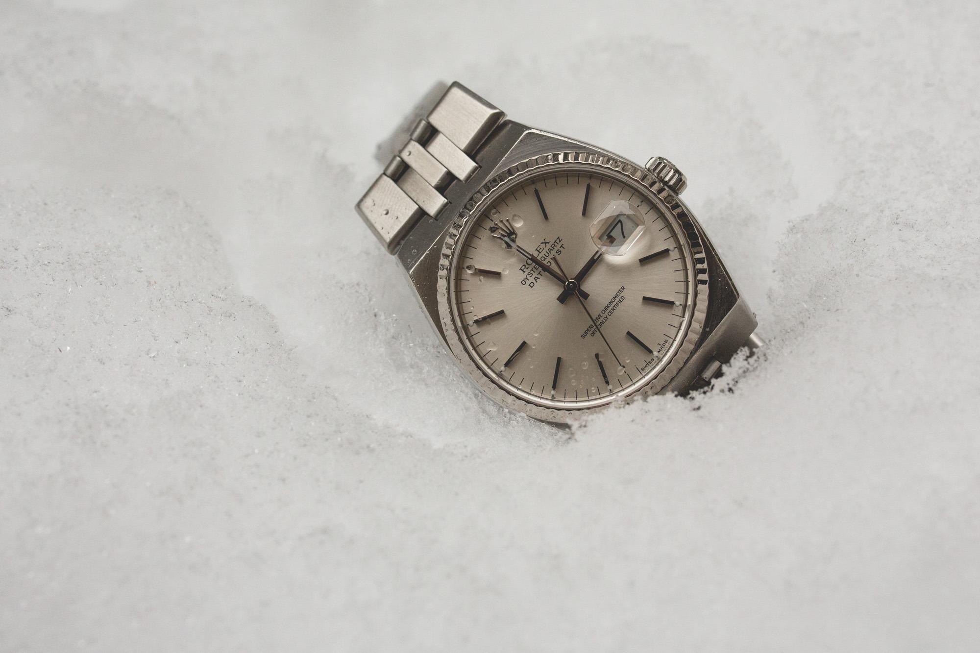 Rolex Oysterquartz - Datejust 17014 - packshot