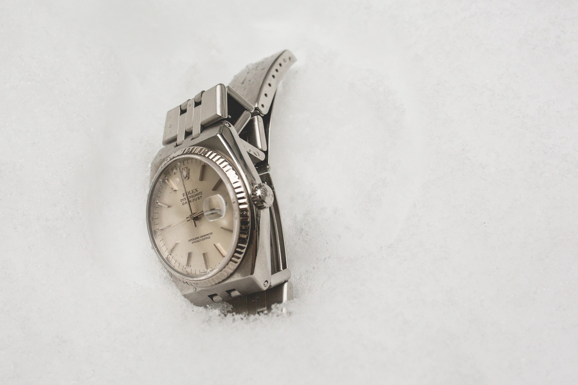 Rolex Oysterquartz - Datejust 17014 - tranche