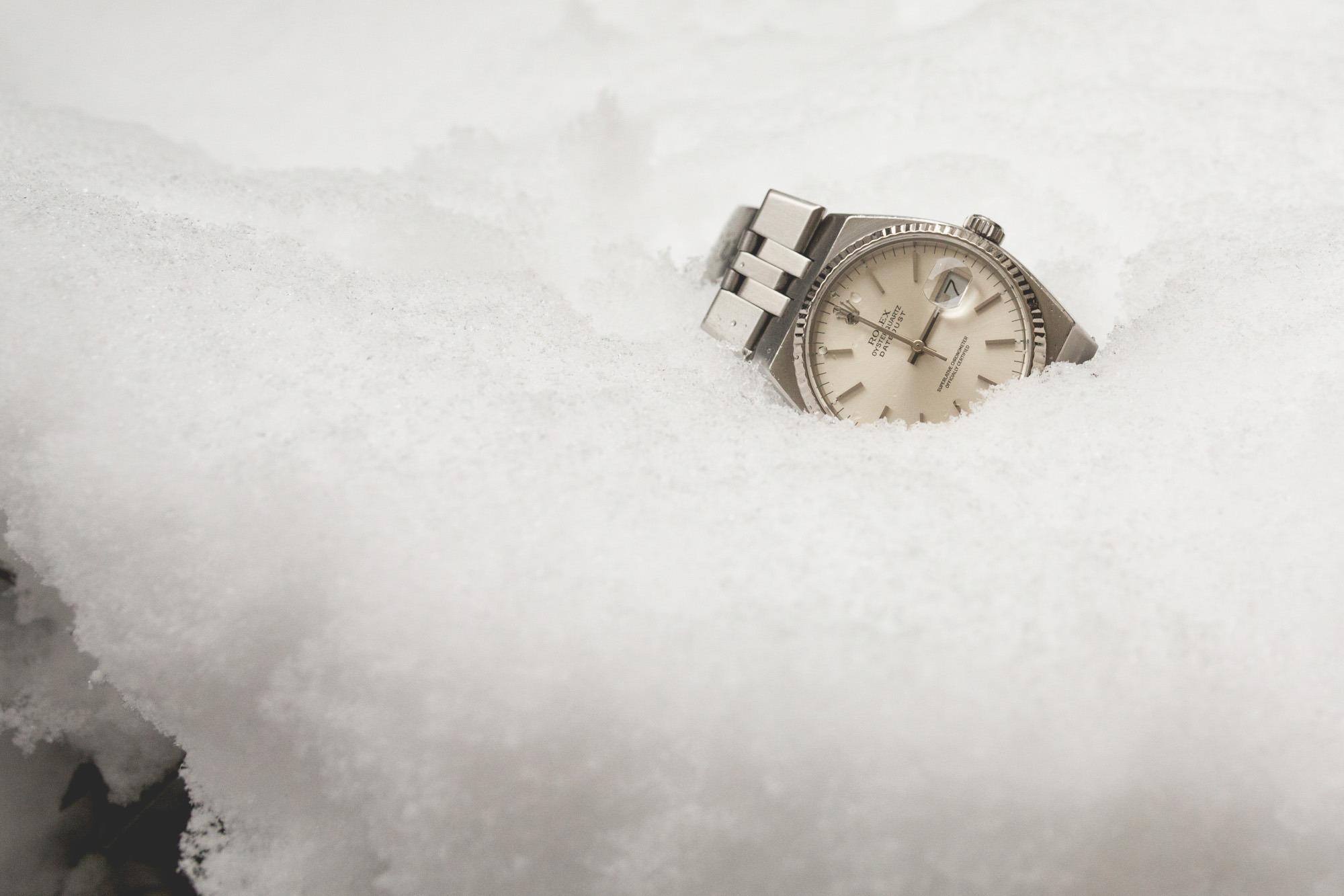 Rolex Oysterquartz - Datejust 17014 - snow