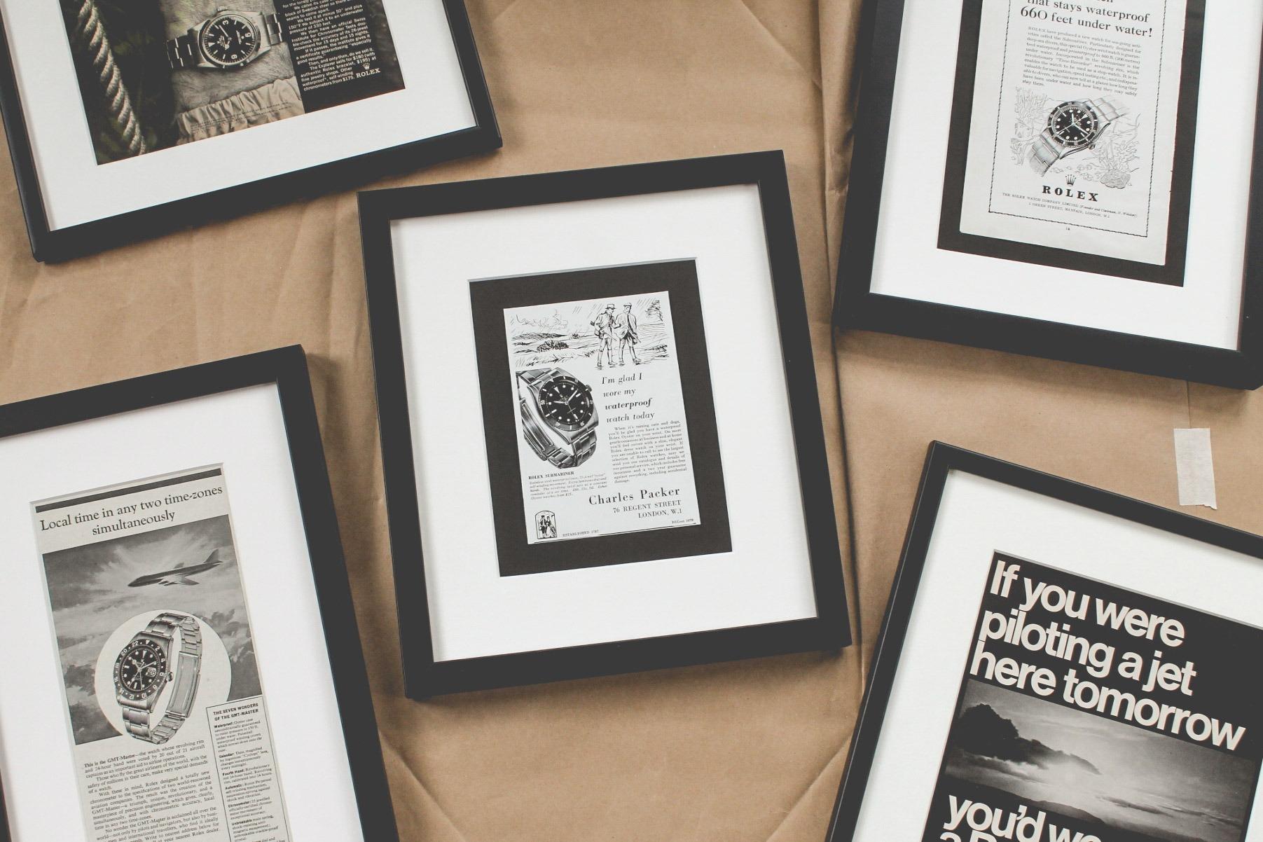 Marketing Horloger - Publicités anciennes
