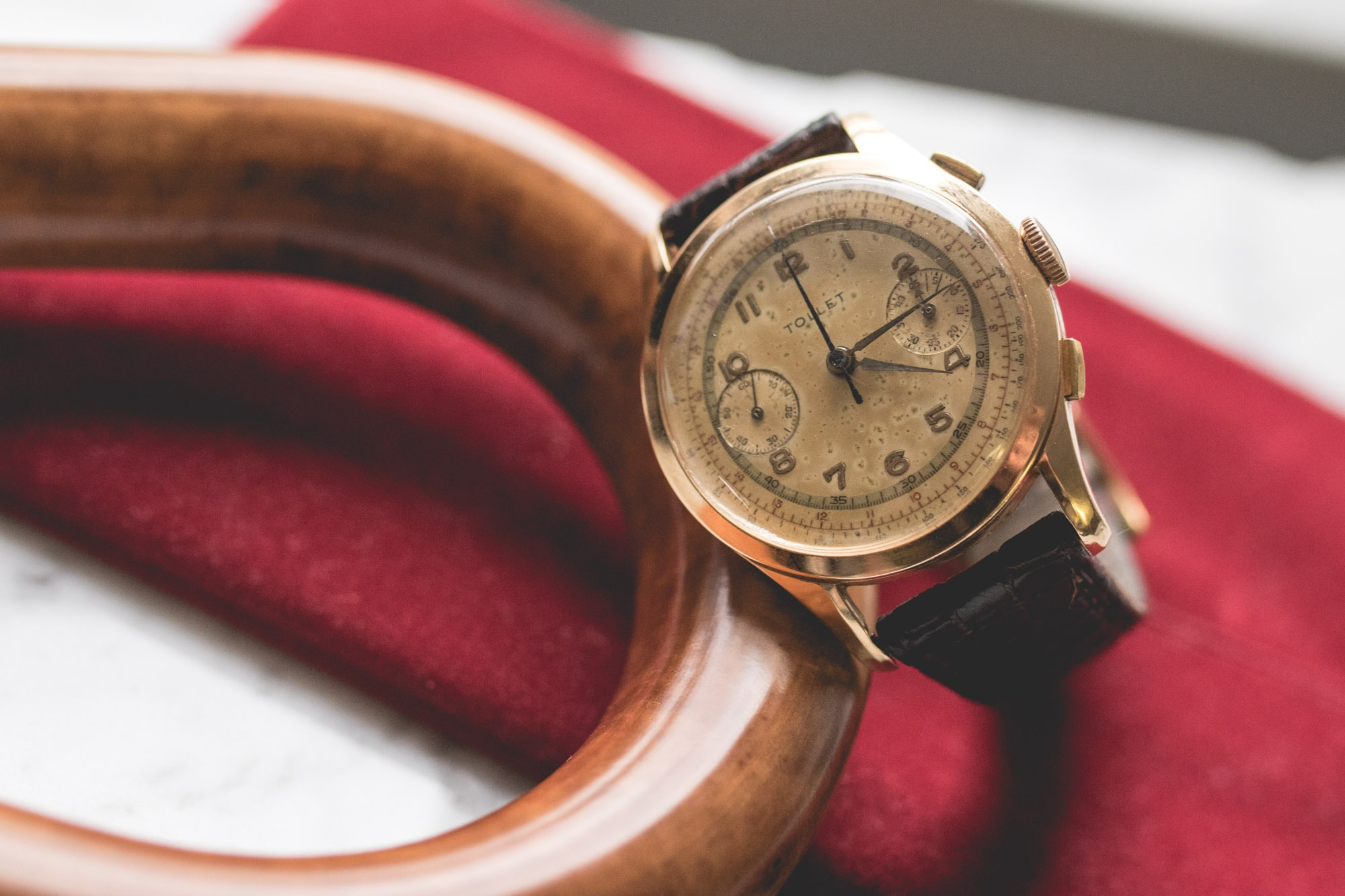 Walter - Formidable - Chronographe vintage Tollet