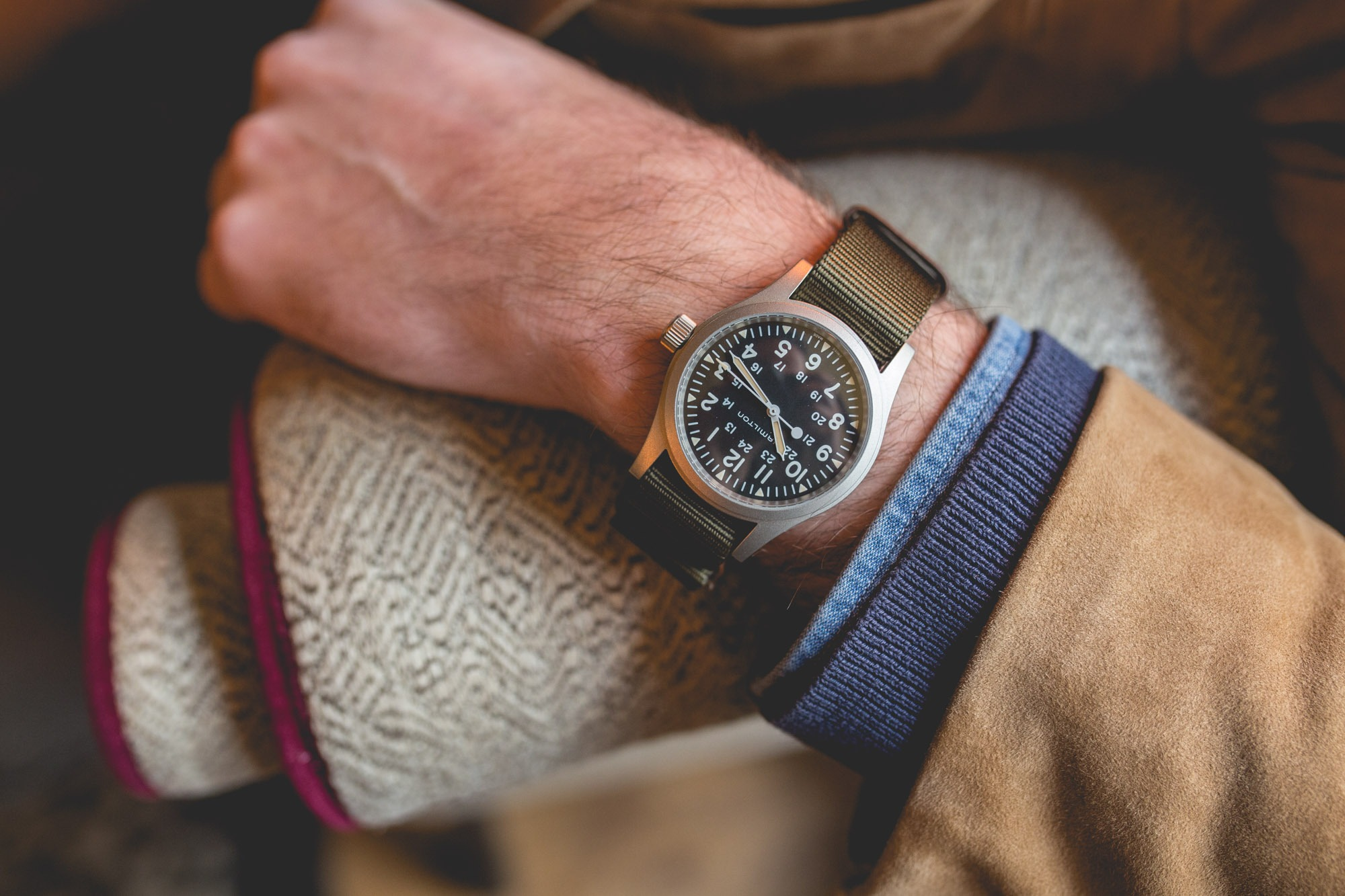 Hamilton Khaki Field Mechanical - New 2018