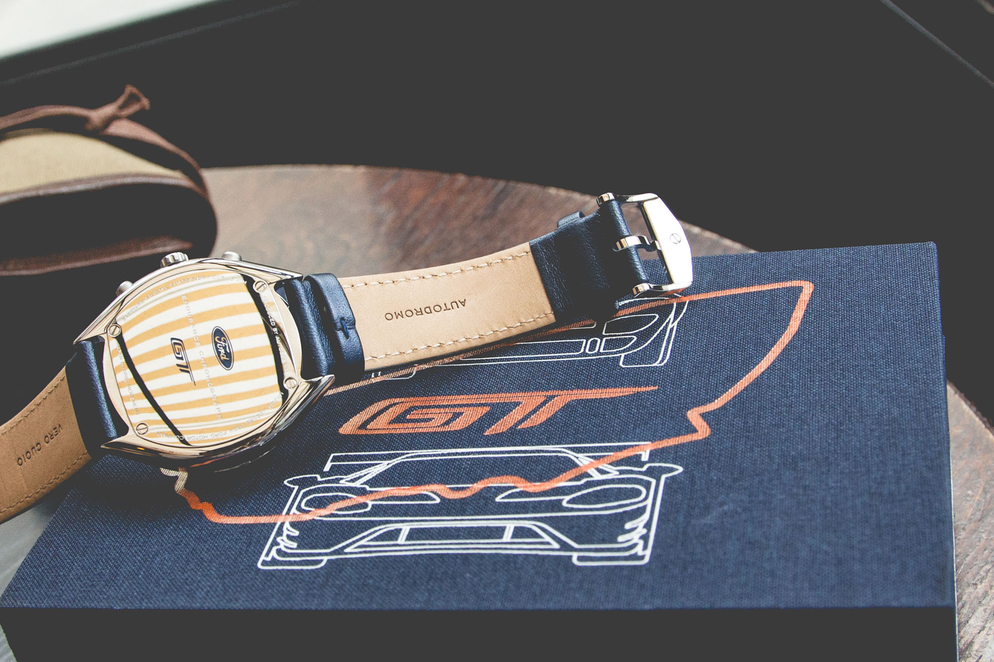 Autodromo GT Endurance Chronograph - Caseback