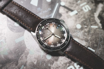 Baselworld 2018 - Blancpain Fifty Fathoms Bathyscaphe Day Date 70s Packshot
