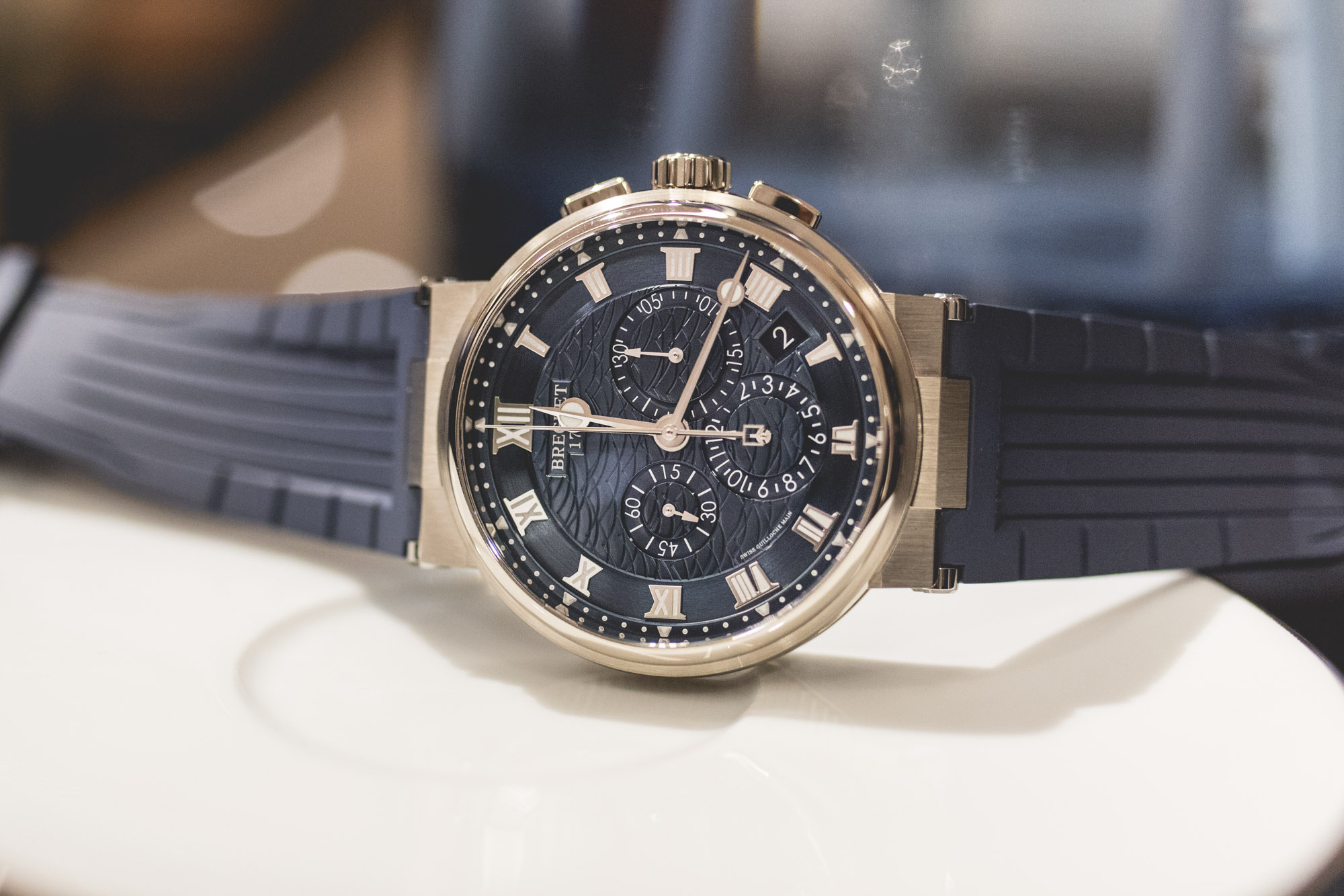 Baselworld 2018 - Breguet Marine Chronographe 5527