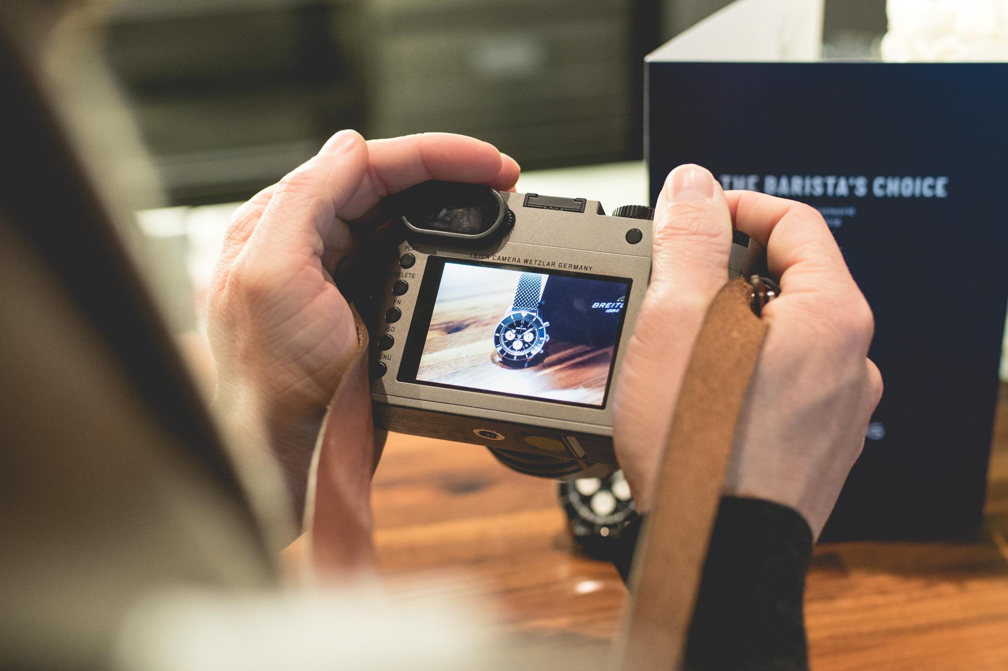 Baselworld 2018 - Breitling SuperOcean Héritage Chronograph - Leica