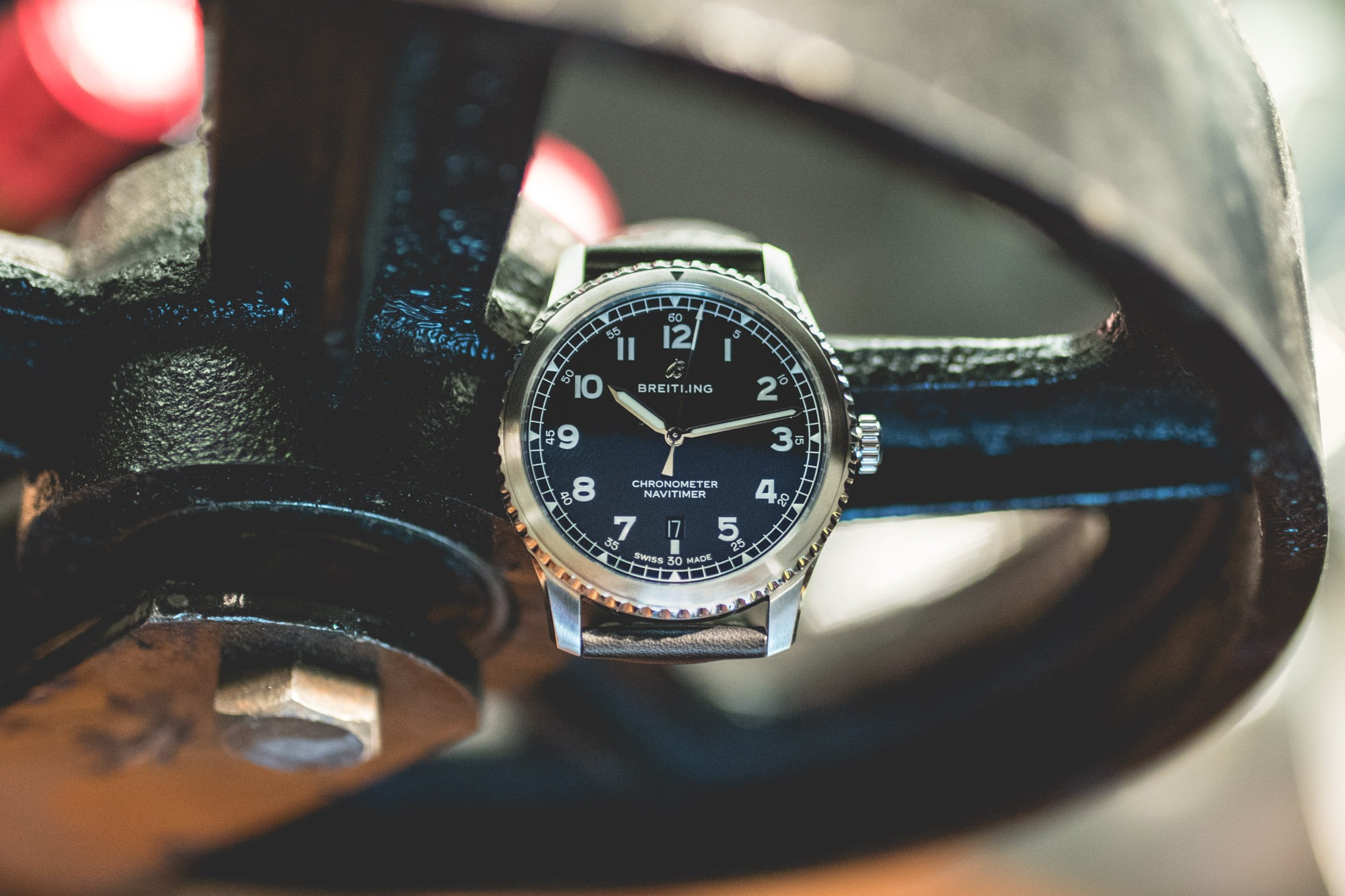 Baselworld 2018 - Breitling Navitimer 8 Automatic 41 -Face