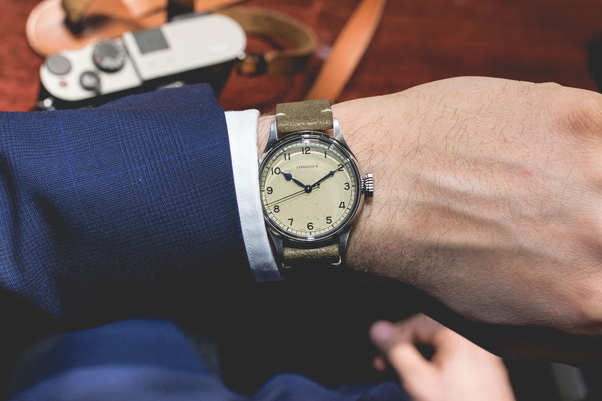 Baselworld 2018 - Longines Heritage Military Wrist