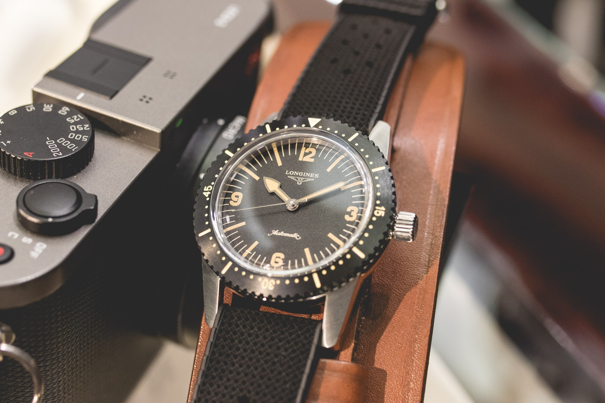 Baselworld 2018 - Longines Heritage Skin Diver Cadran