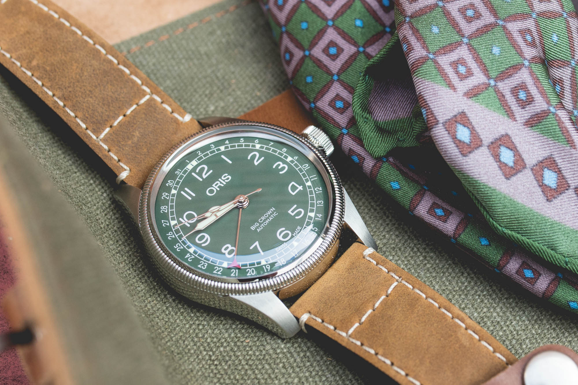 Baselworld 2018 - Oris Big Crown Green Dial