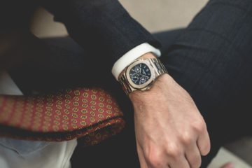 Baselworld 2018 : Patek Philippe Nautilus Perpetual Calendar Wristshot