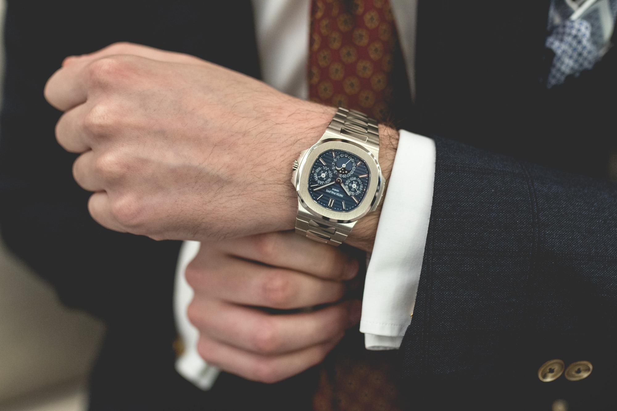 Baselworld 2018 : Patek Philippe Nautilus Perpetual Calendar Wrist