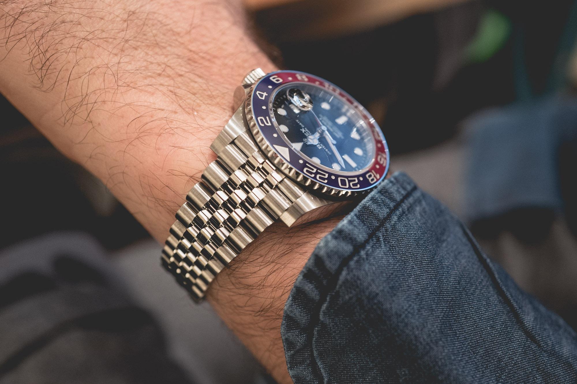 Baselworld 2018 - Rolex GMT-Master II 'Pepsi' - Bracelet Jubilee