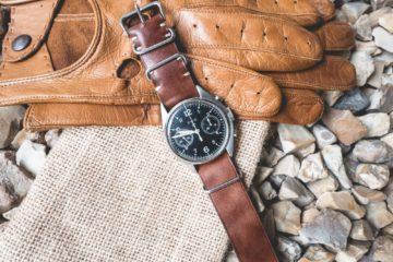 Joseph Bonnie - Bracelet Nato Scott Cognac Brown - Edition Limitée