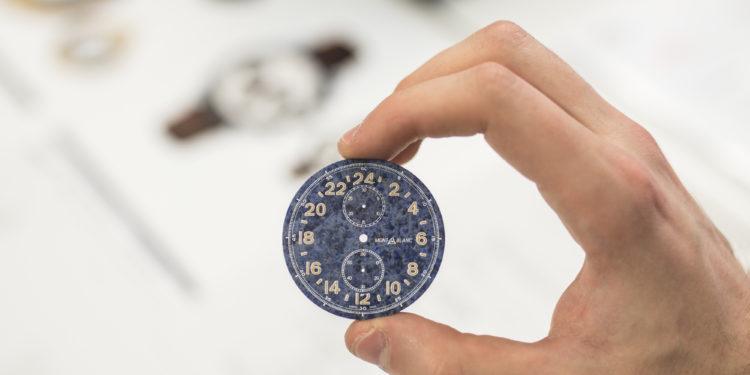 Montblanc Manufacture Le Locle - Exemple de cadran