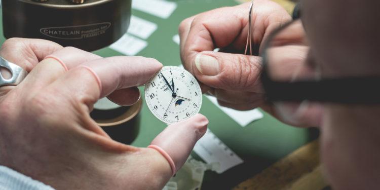 Montblanc Manufacture Le Locle - Contrôle des aiguilles