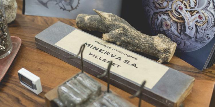 Montblanc Manufacture Villeret - Ancien outil Minerva