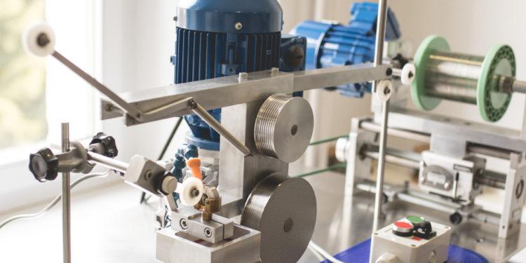 Montblanc Manufacture Villeret - Machine pour la fabrication du spiral
