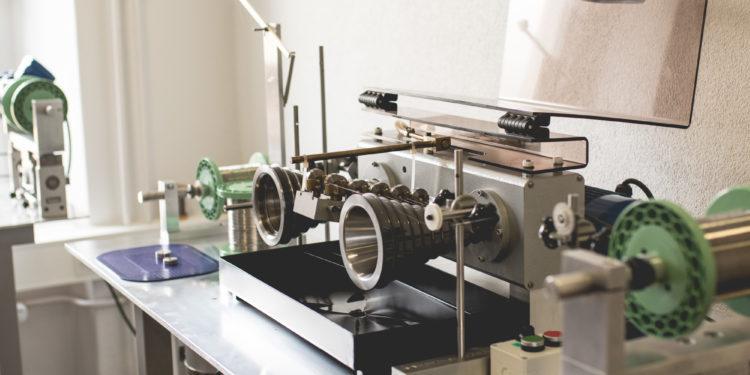Montblanc Manufacture Villeret - Machine pour la conception du spiral