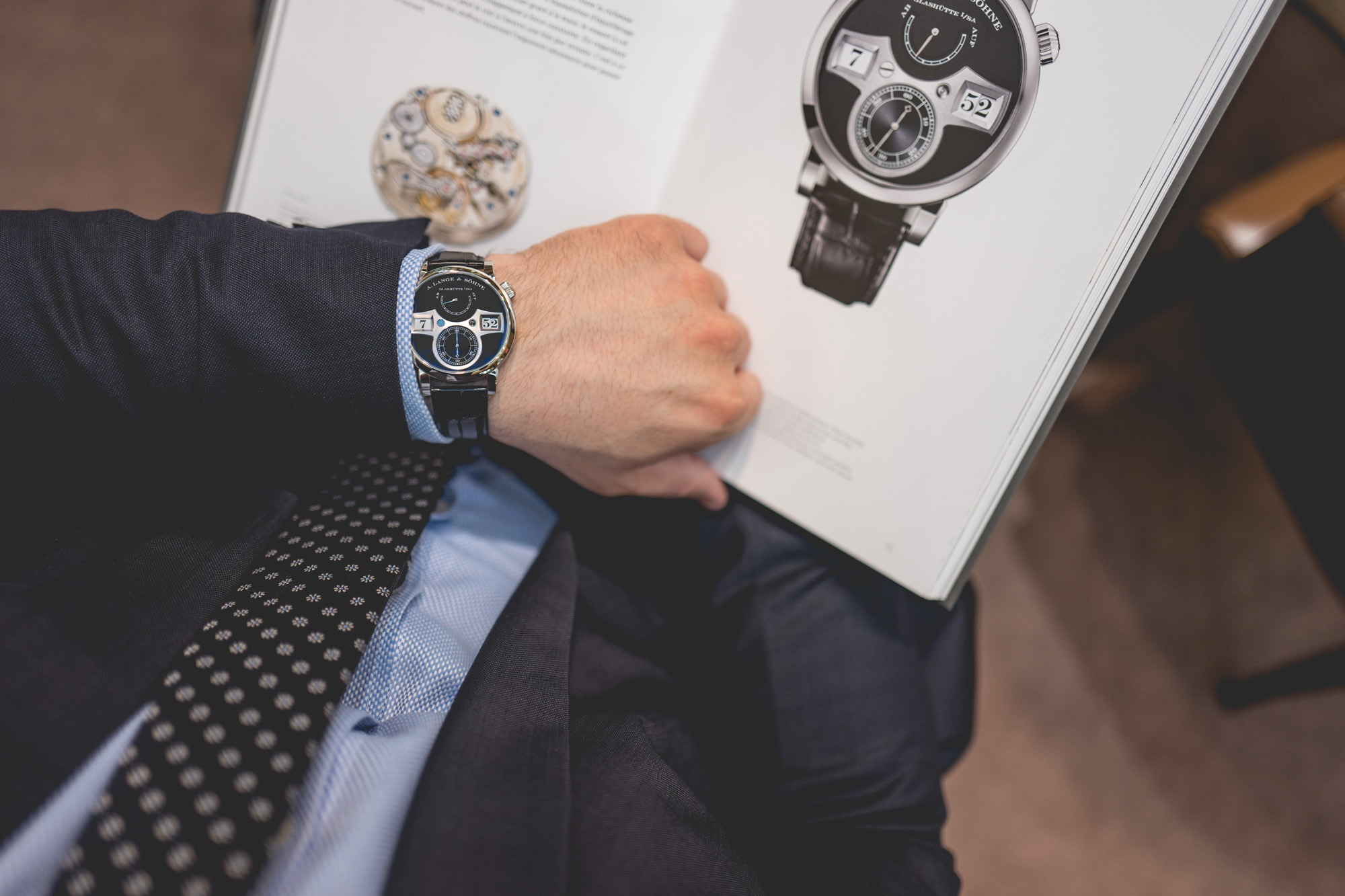 A. Lange & Söhne - Zeitwerk - Wrist