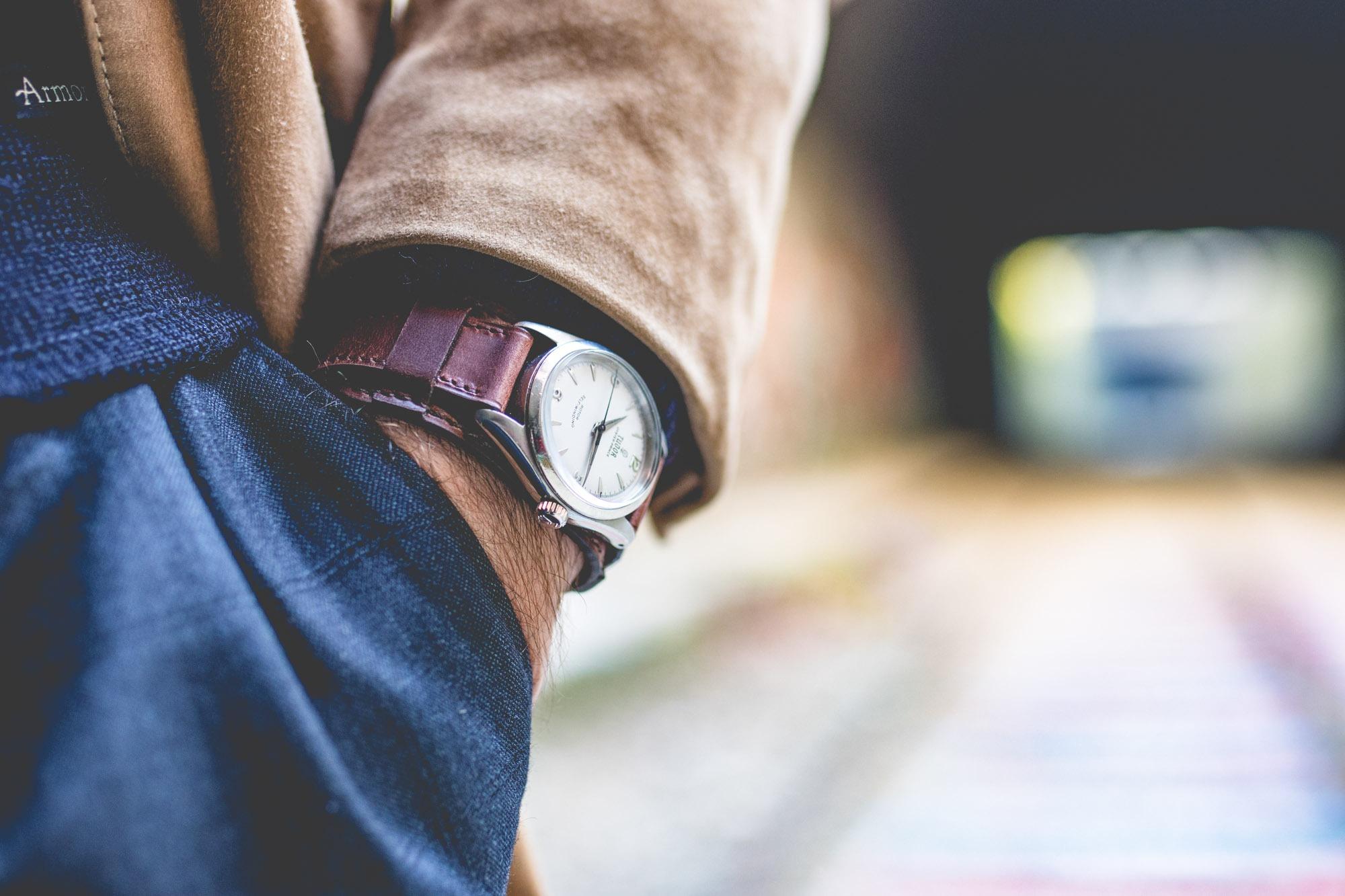 Joseph Bonnie - Bracelet de montre type Bund - Tudor Oyster Prince