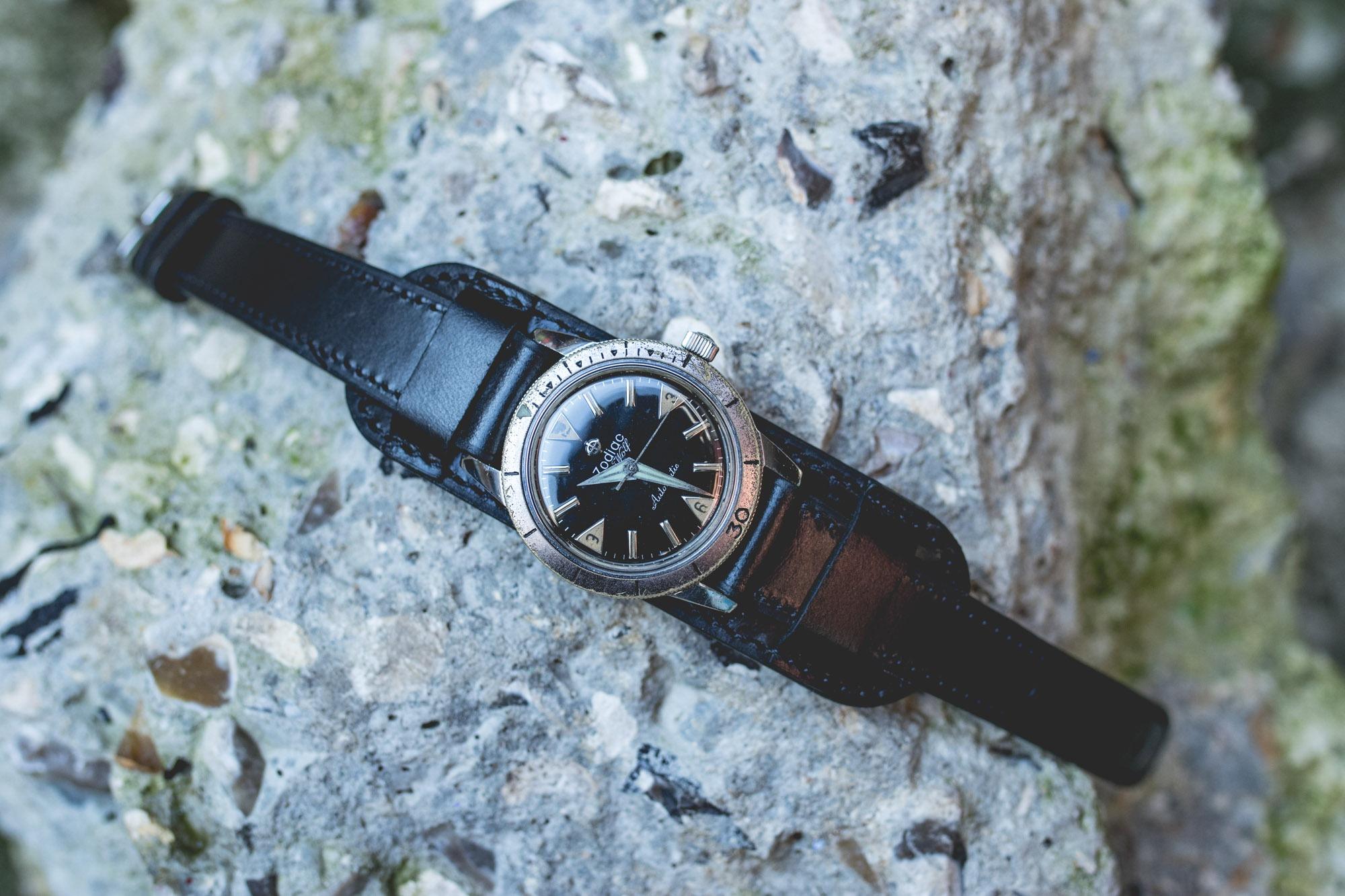 Joseph Bonnie - Bracelet de montre type Bund - Zodiac Seawolf