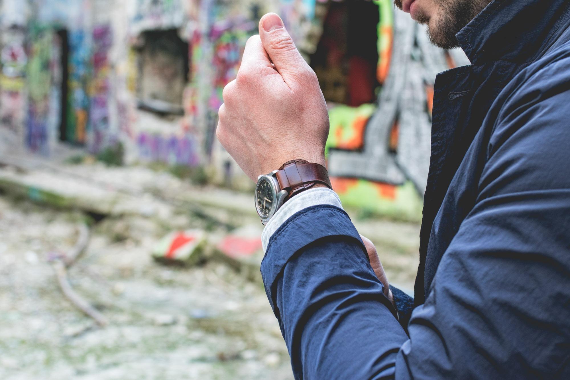 Joseph Bonnie - Bracelet de montre type Bund - CYMA W.W.W. Mark X