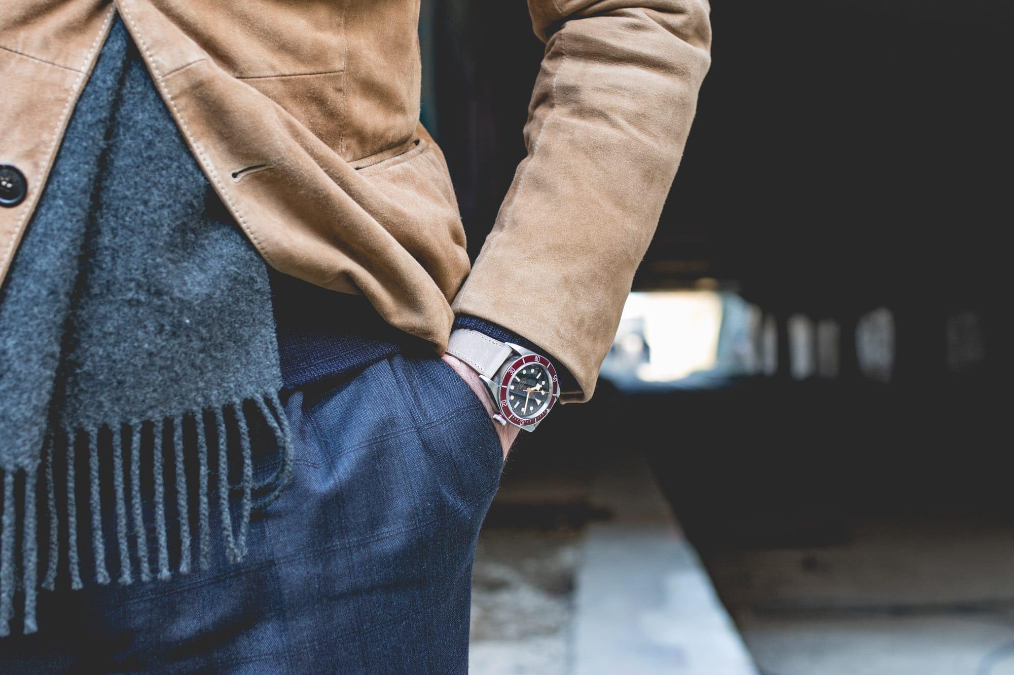 Bracelet de montre Joseph Bonnie - Dusty Gris