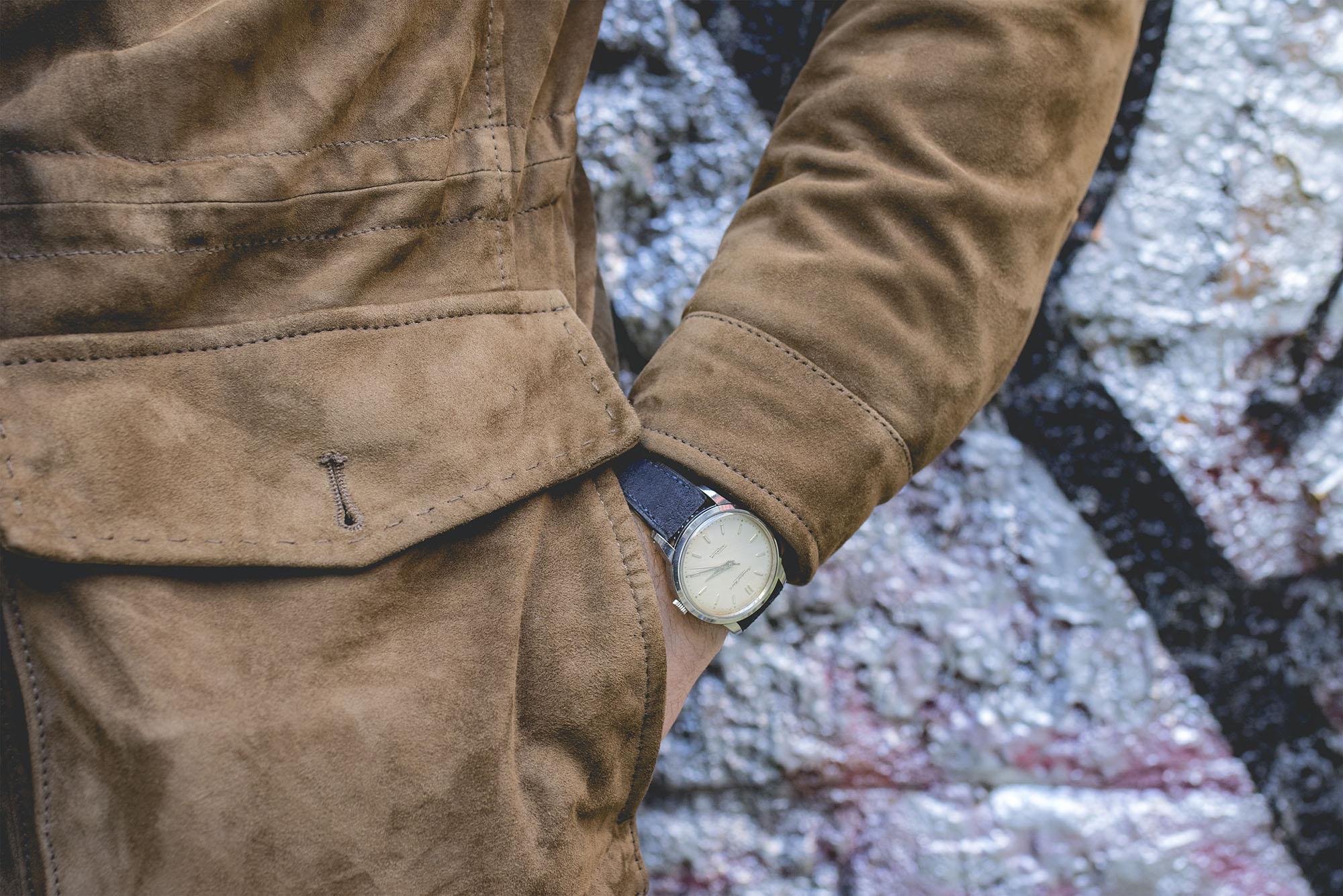 Bracelet de montre Joseph Bonnie - Presley Blue