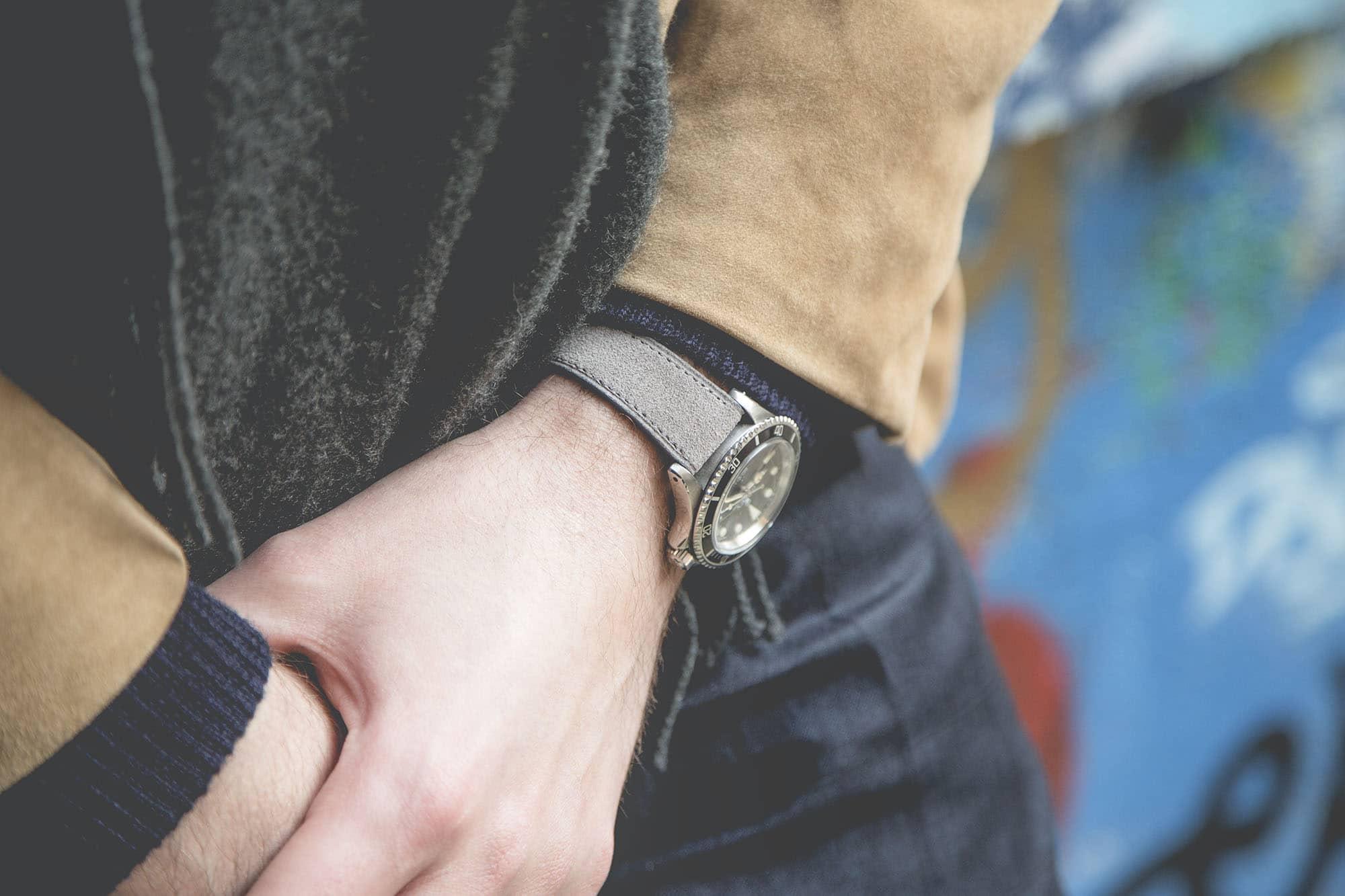 Bracelet de montre Joseph Bonnie - Presley Grey
