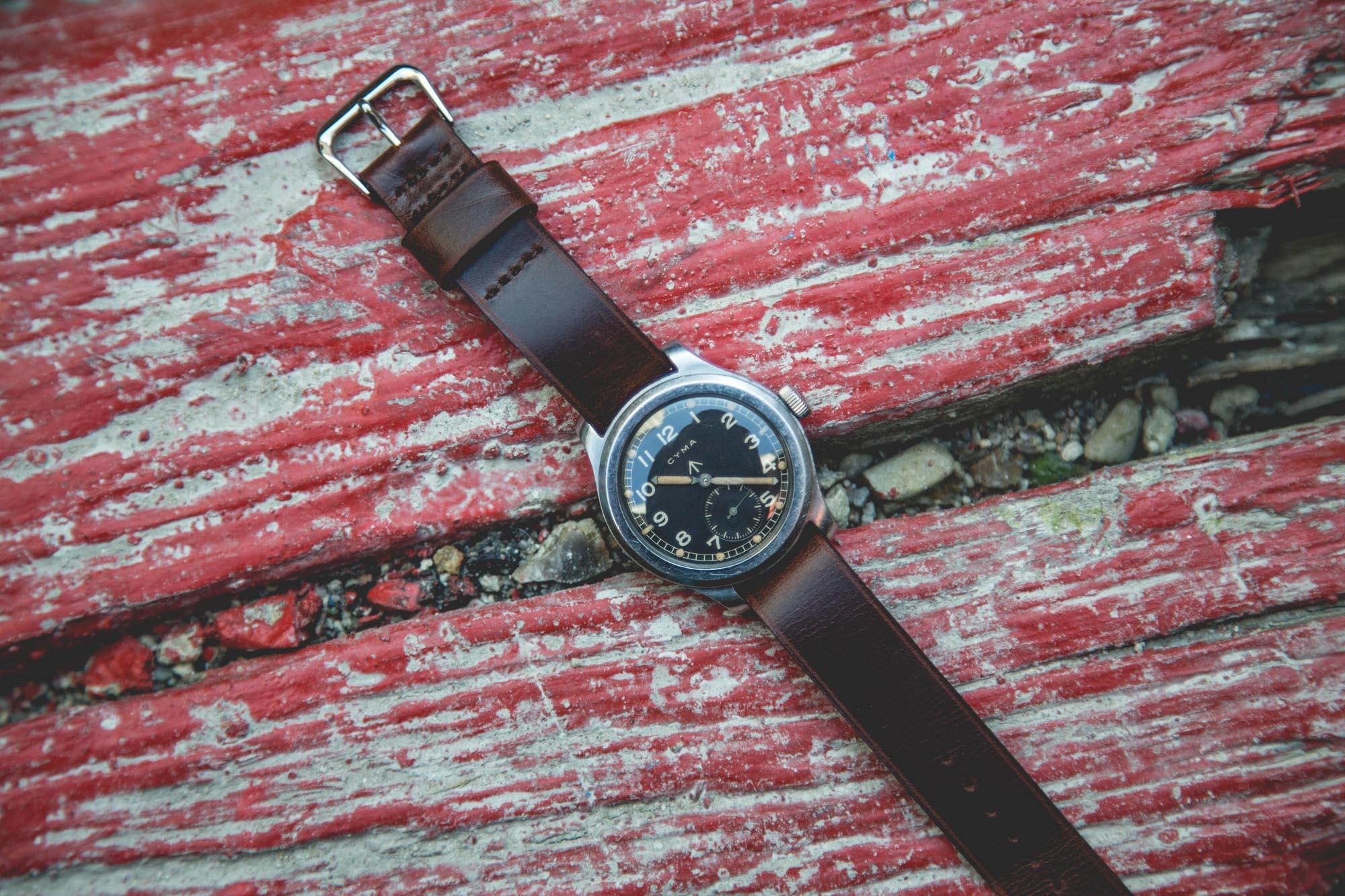 Joseph Bonnie - Bracelet de montre U.S. Military - CYMA W.W.W. Mark X