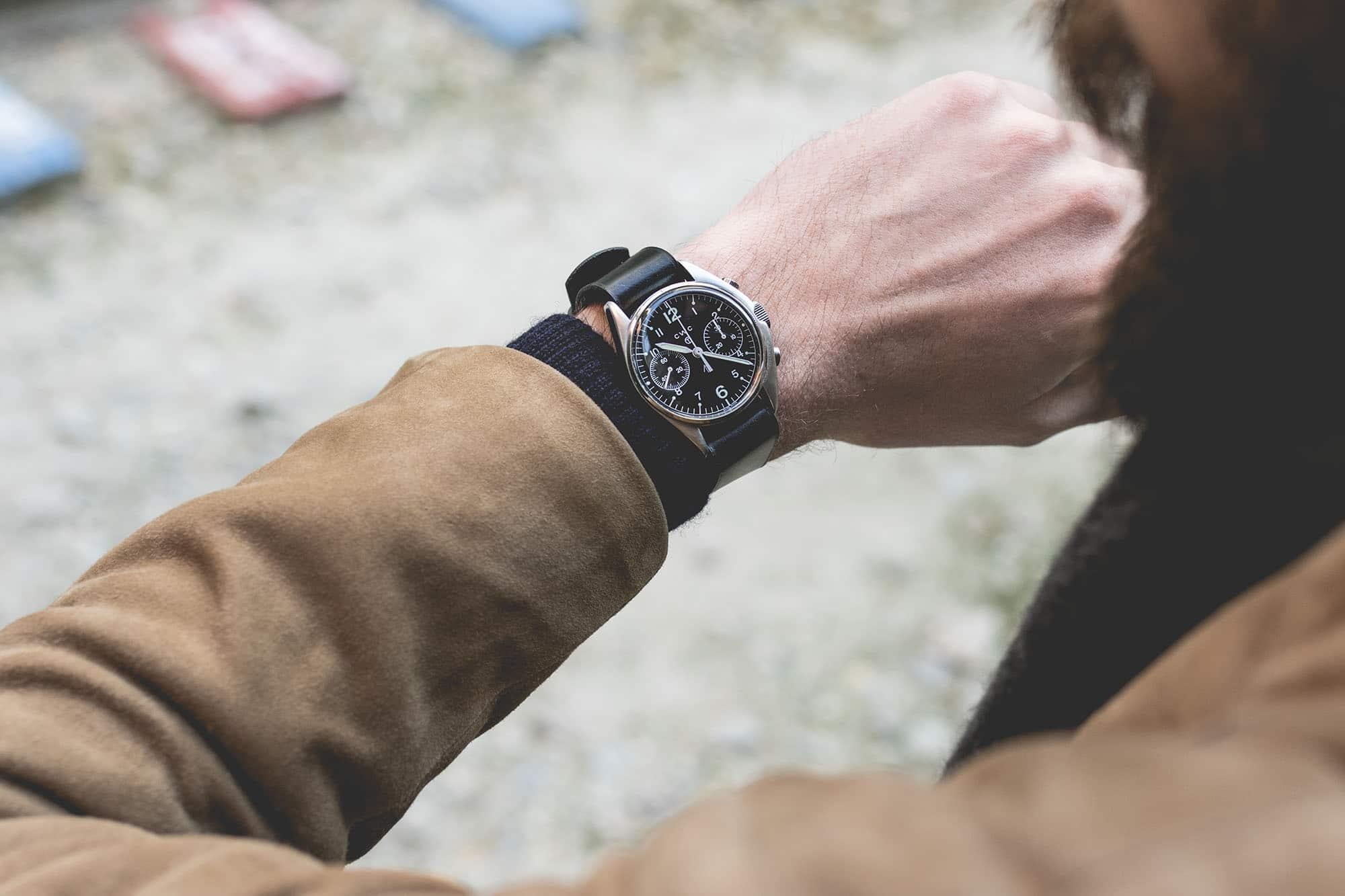 Bracelet de montre Joseph Bonnie - U.S. Military Black