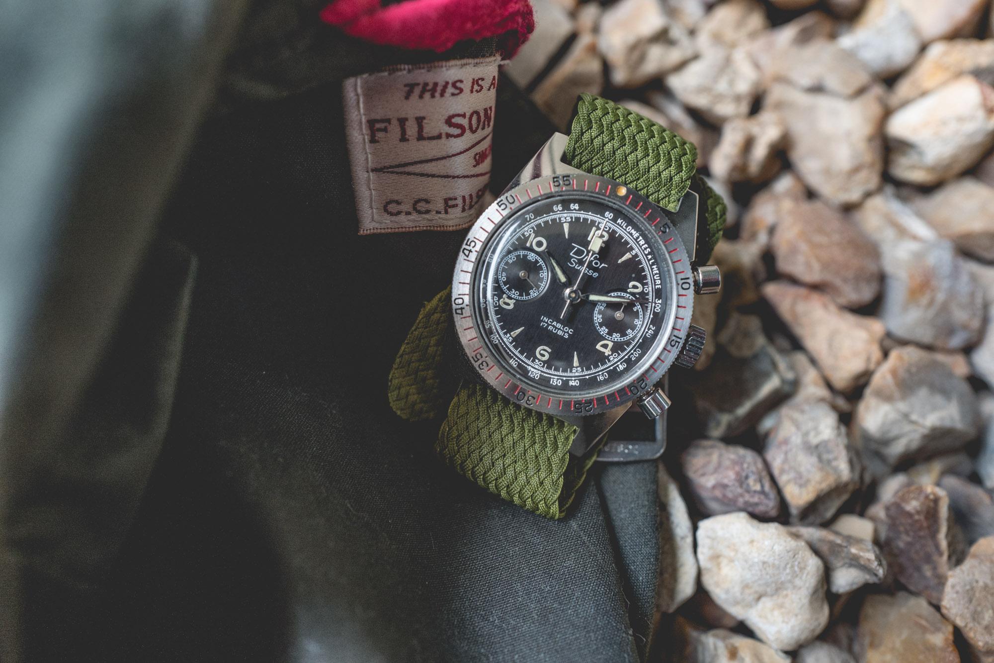 Difor Suisse - Chronographe Circa 1960's - Focus