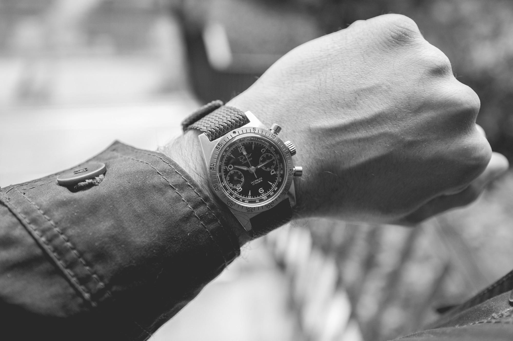 Difor Suisse - Chronographe Circa 1960's - Wrist