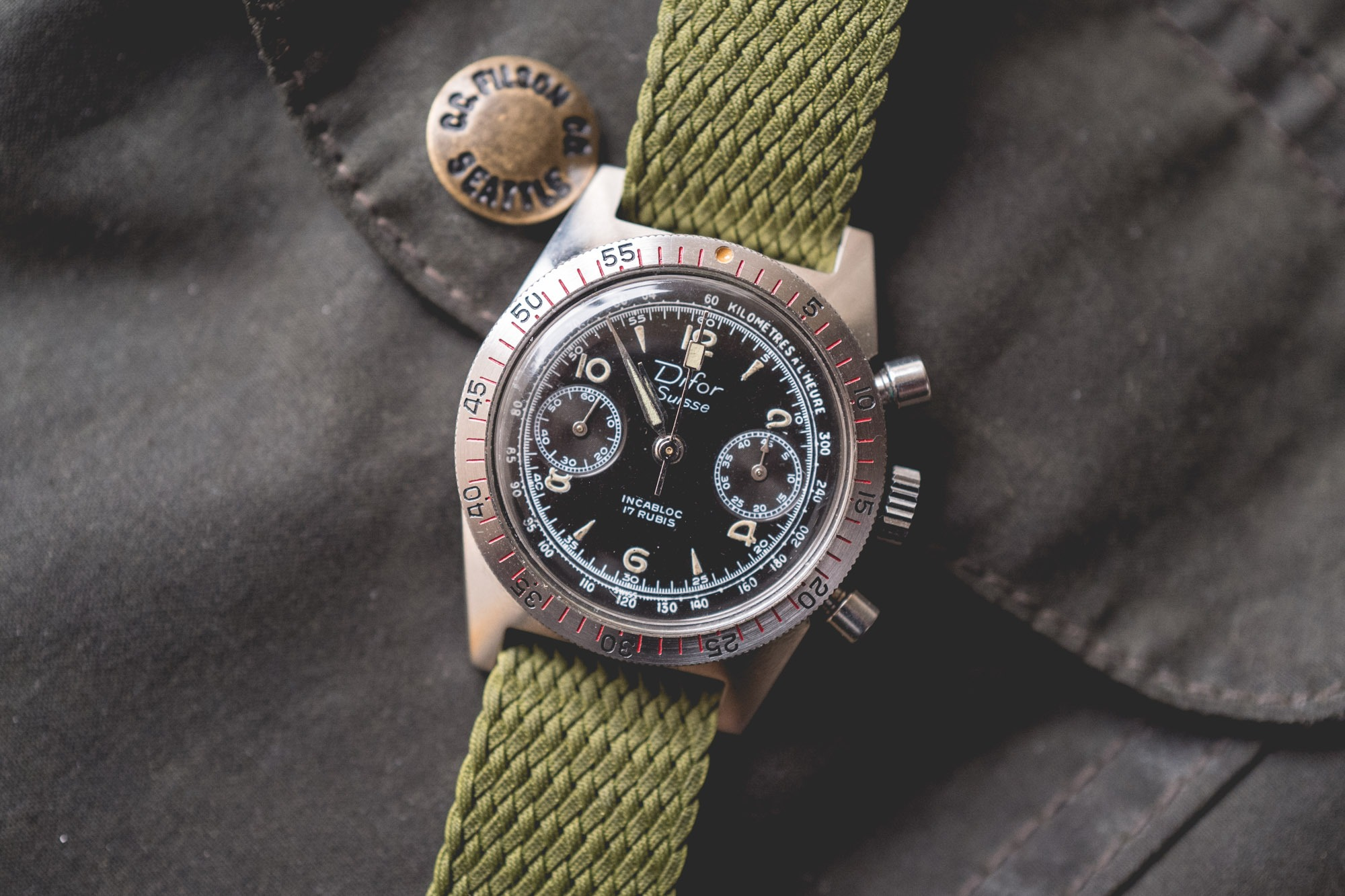 Difor Suisse - Chronographe Circa 1960's