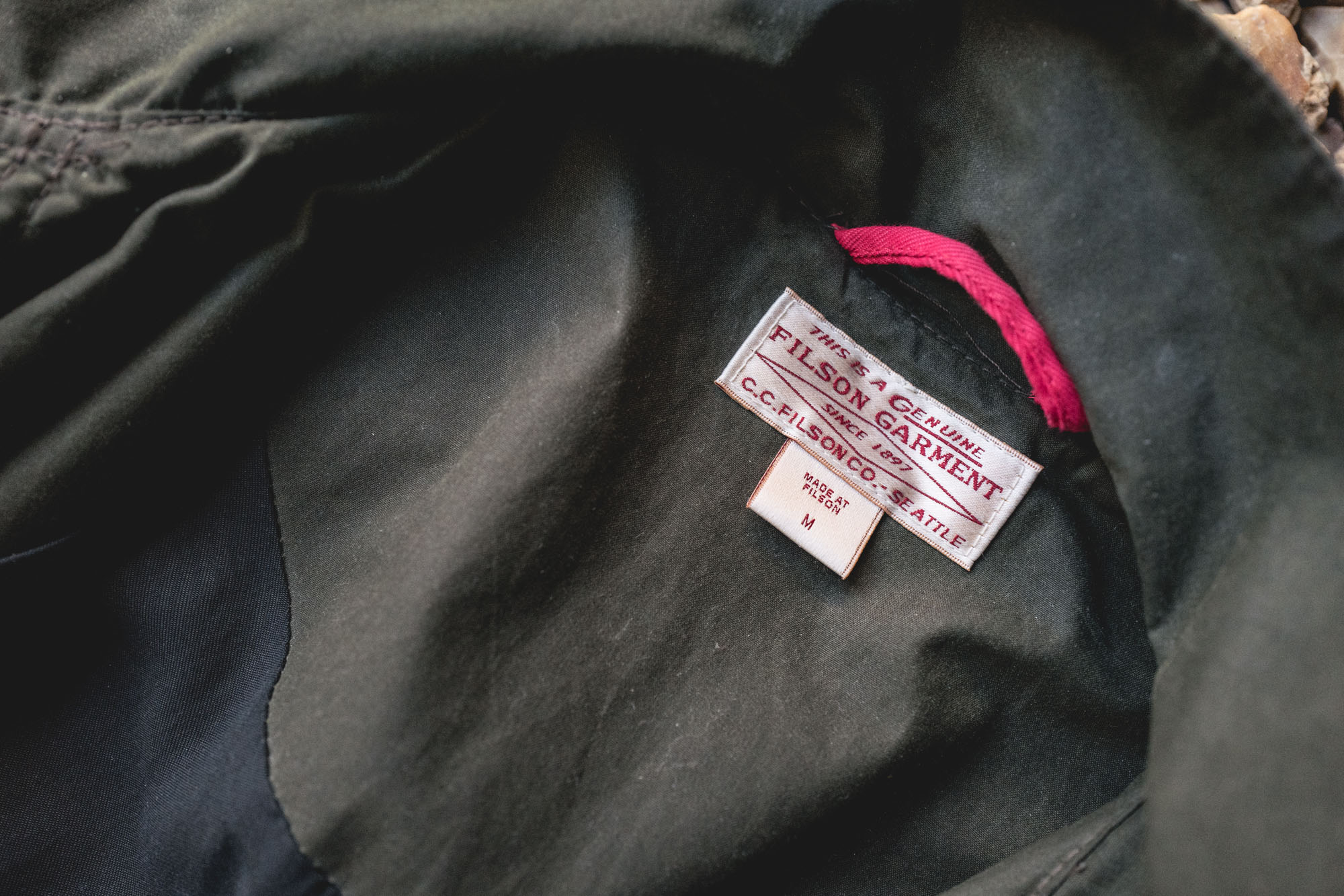 Filson 10475 Waxed Jacket - Filson USA