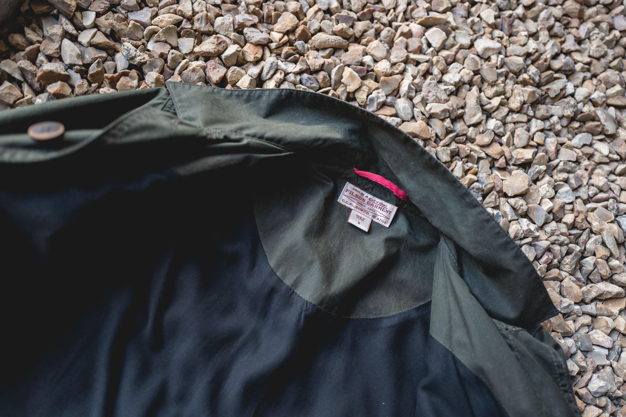 Filson 10475 Waxed Jacket - Doublure