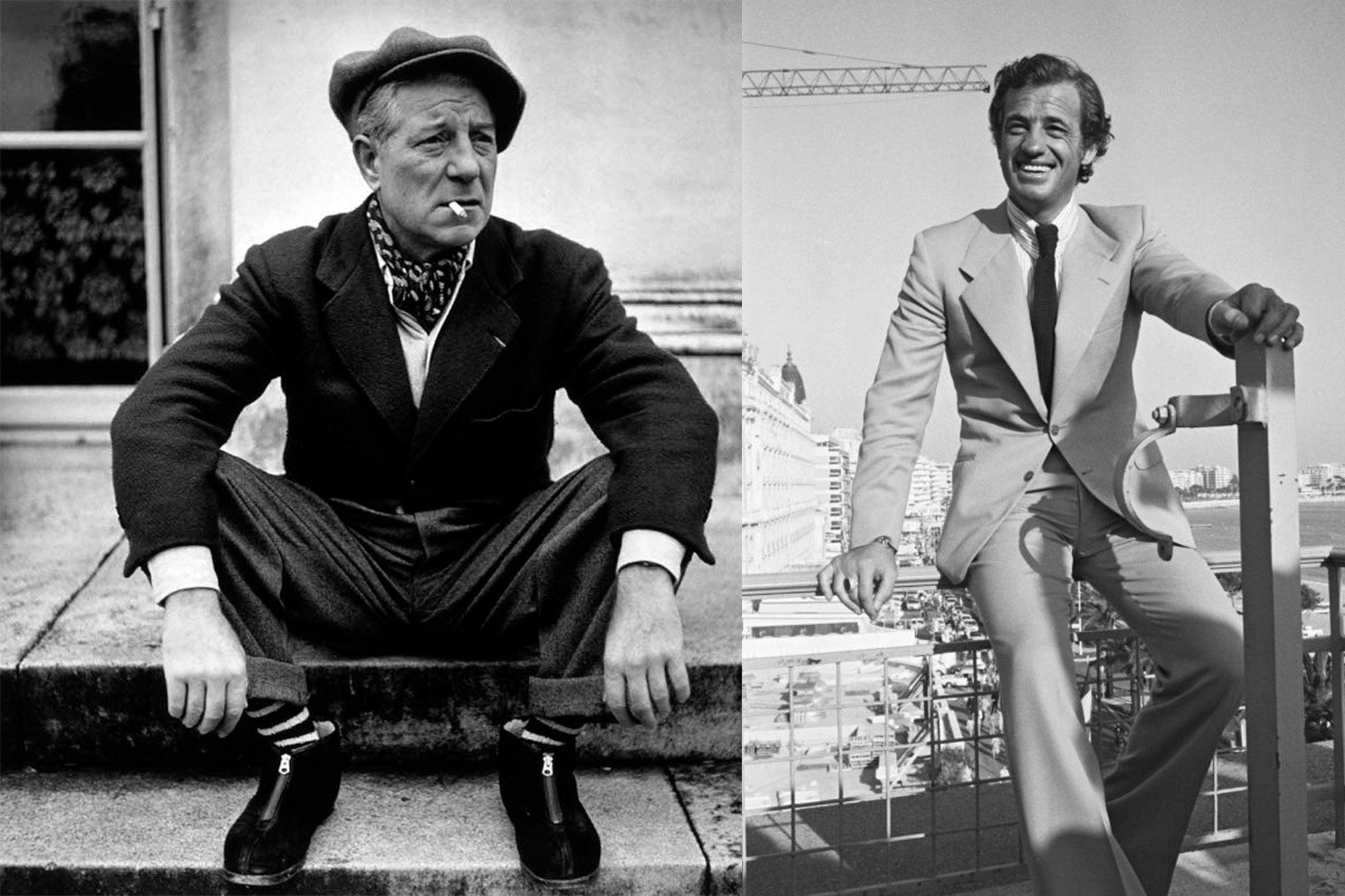 Icones de style Husbands - Jean Gabin et Jean-Paul Belmondo